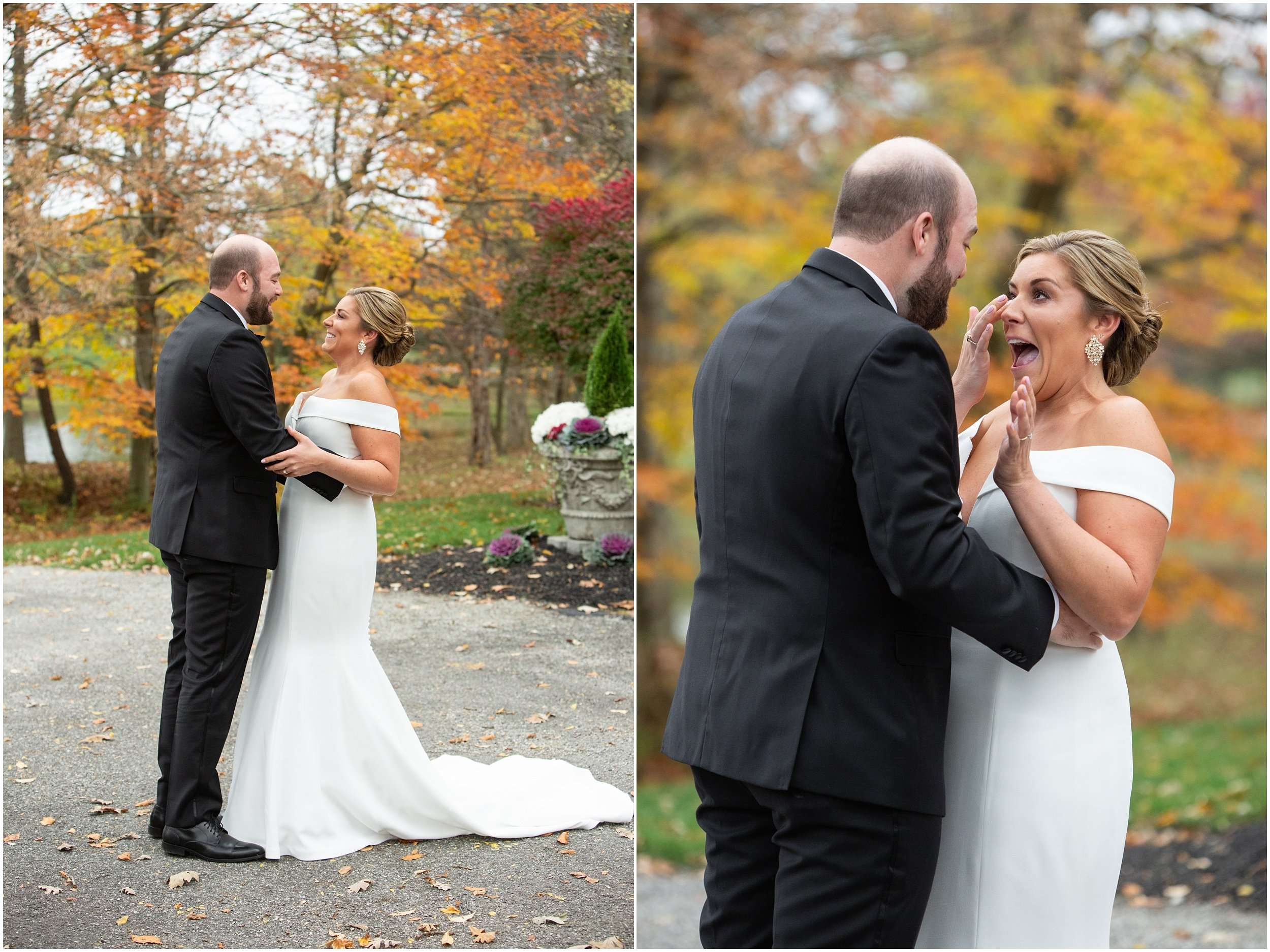 Fall Wedding at the Jefferson Golf and Country Club | Ohio Wedding Photography 46