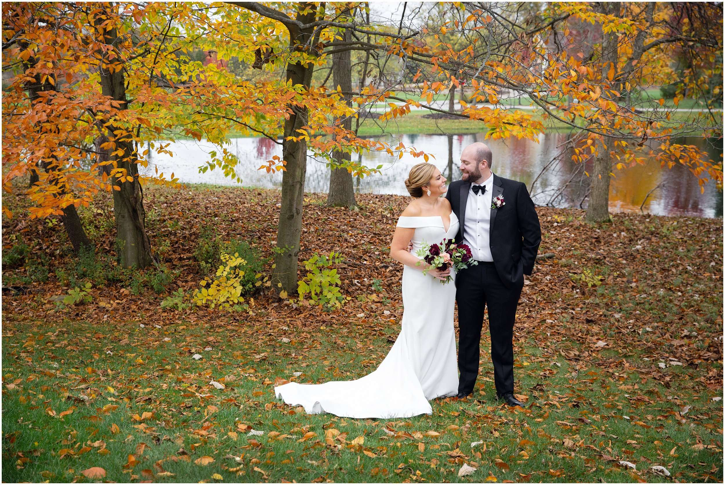 Fall Wedding at the Jefferson Golf and Country Club | Ohio Wedding Photography 56