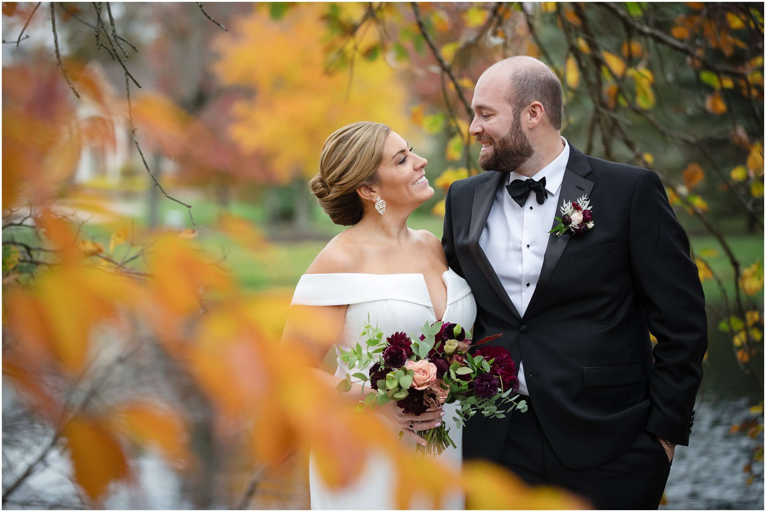 Fall Wedding at the Jefferson Golf and Country Club | Ohio Wedding Photography 58