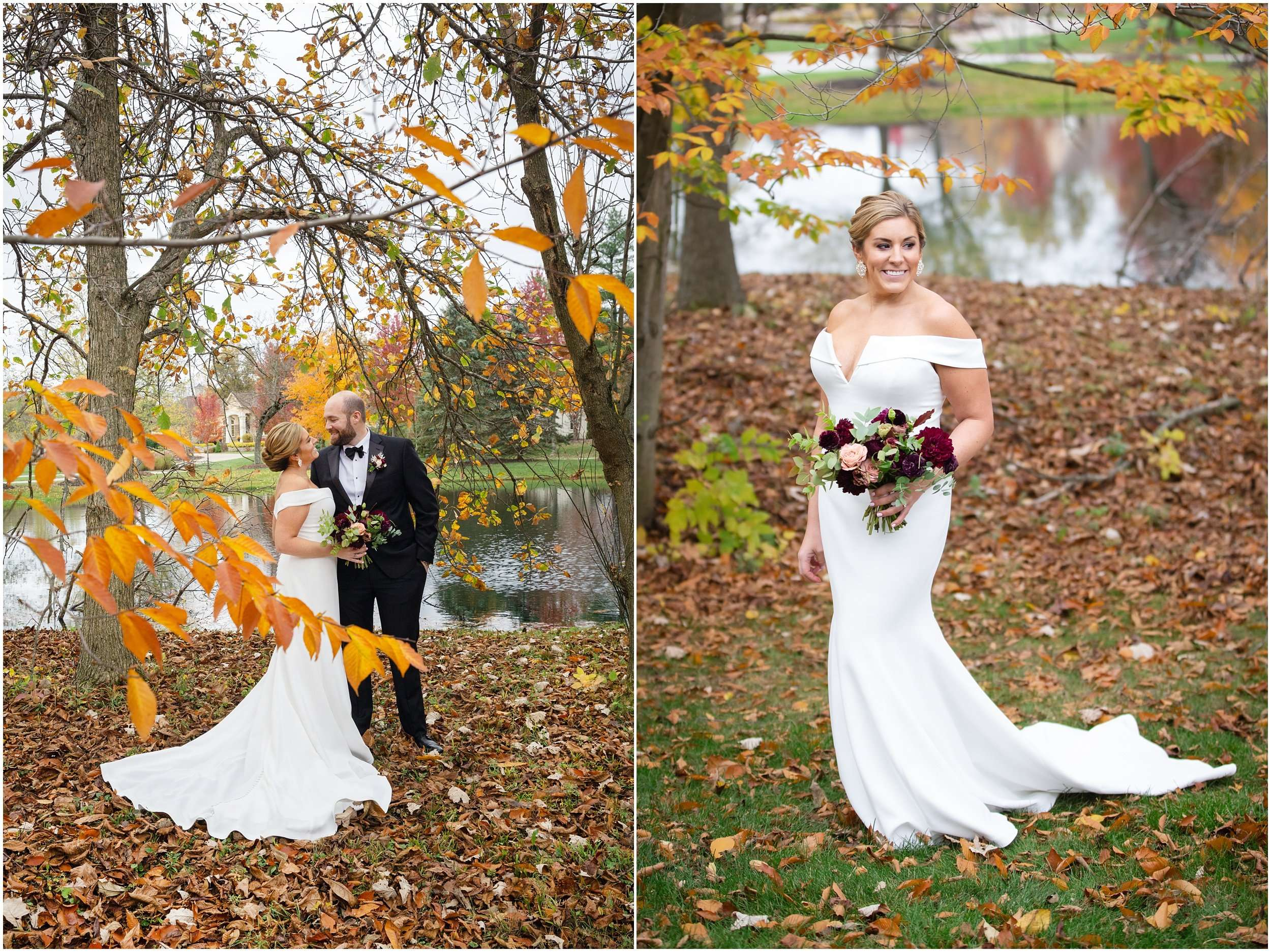 Fall Wedding at the Jefferson Golf and Country Club | Ohio Wedding Photography 62