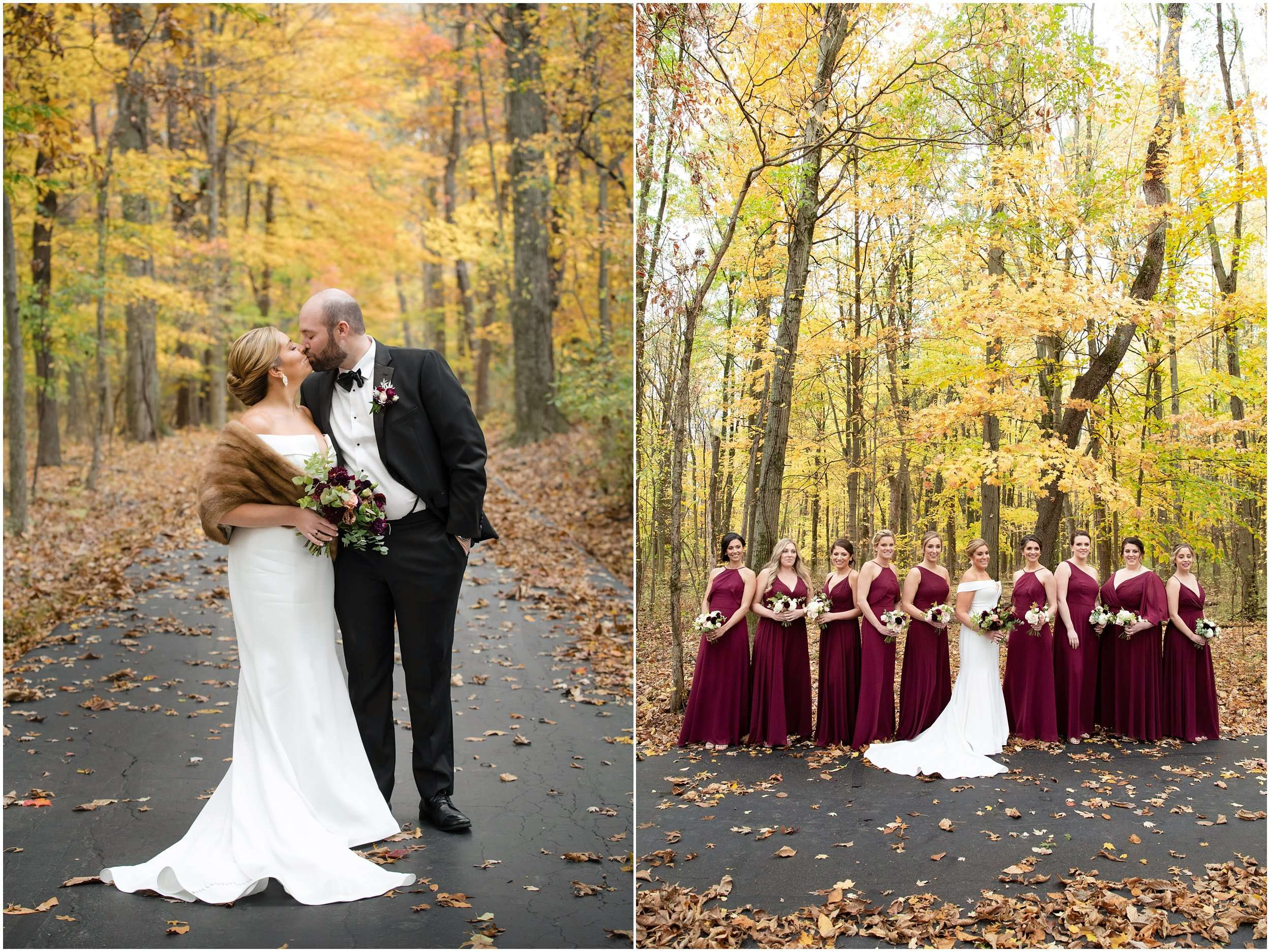 Fall Wedding at the Jefferson Golf and Country Club | Ohio Wedding Photography 82