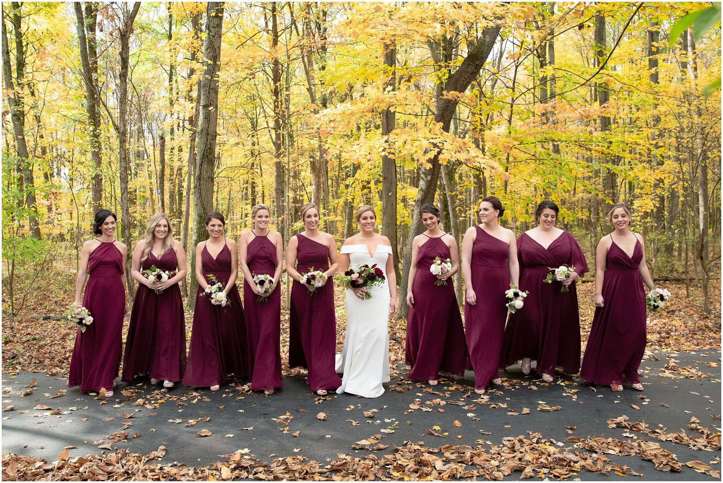 Fall Wedding at the Jefferson Golf and Country Club | Ohio Wedding Photography 84