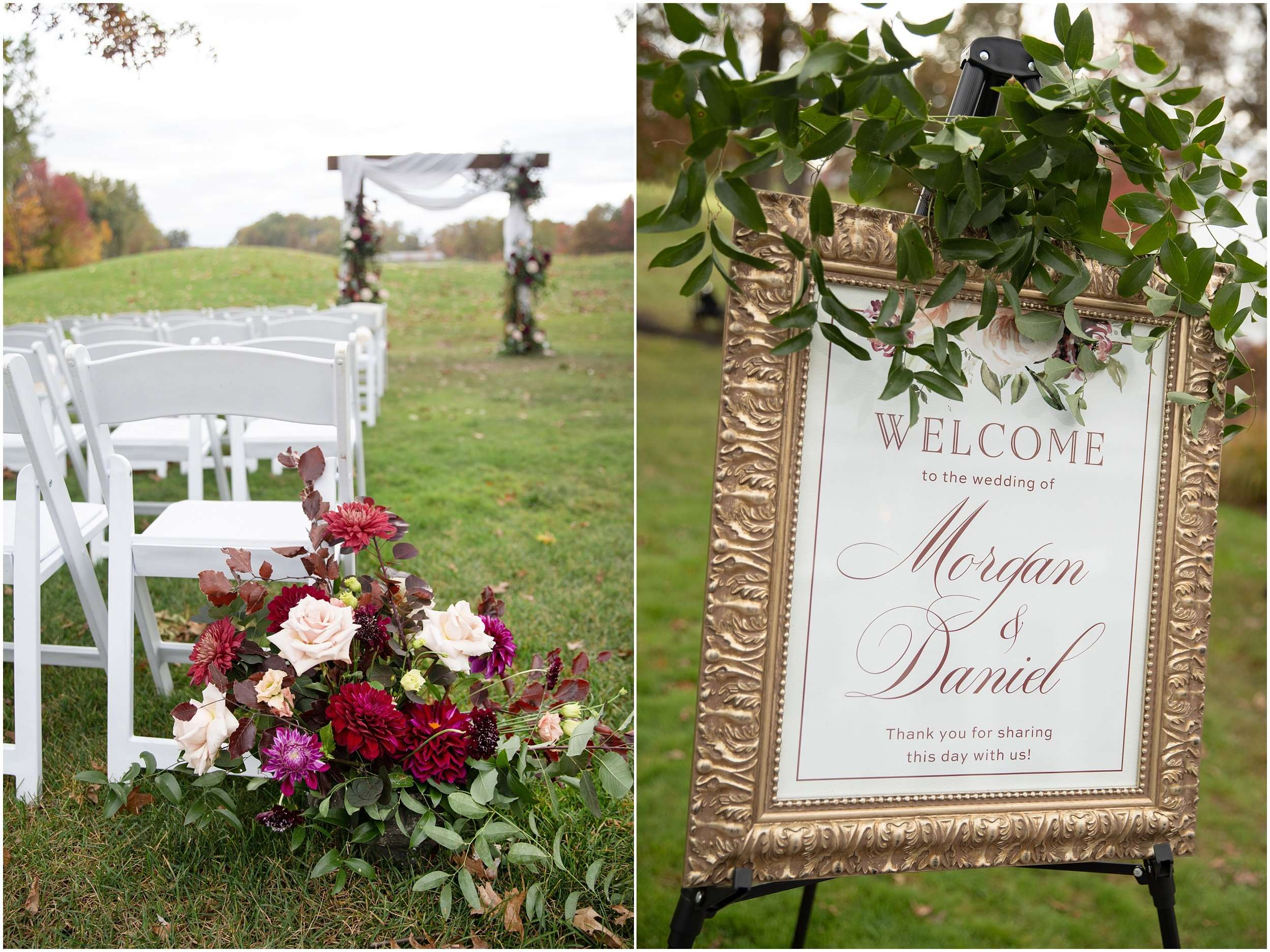 Fall Wedding at the Jefferson Golf and Country Club | Ohio Wedding Photography 96