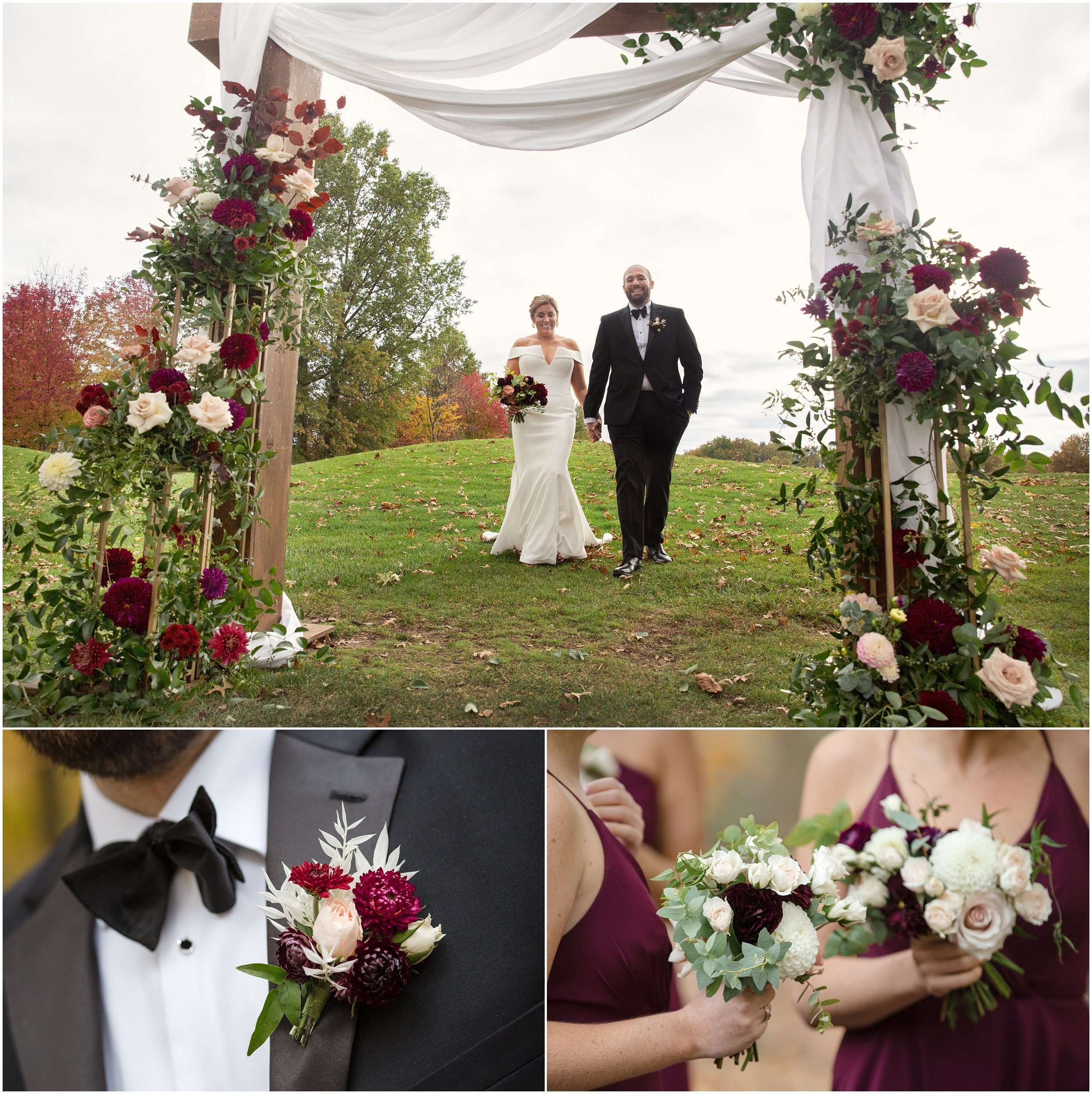 Fall Wedding at the Jefferson Golf and Country Club | Ohio Wedding Photography 100