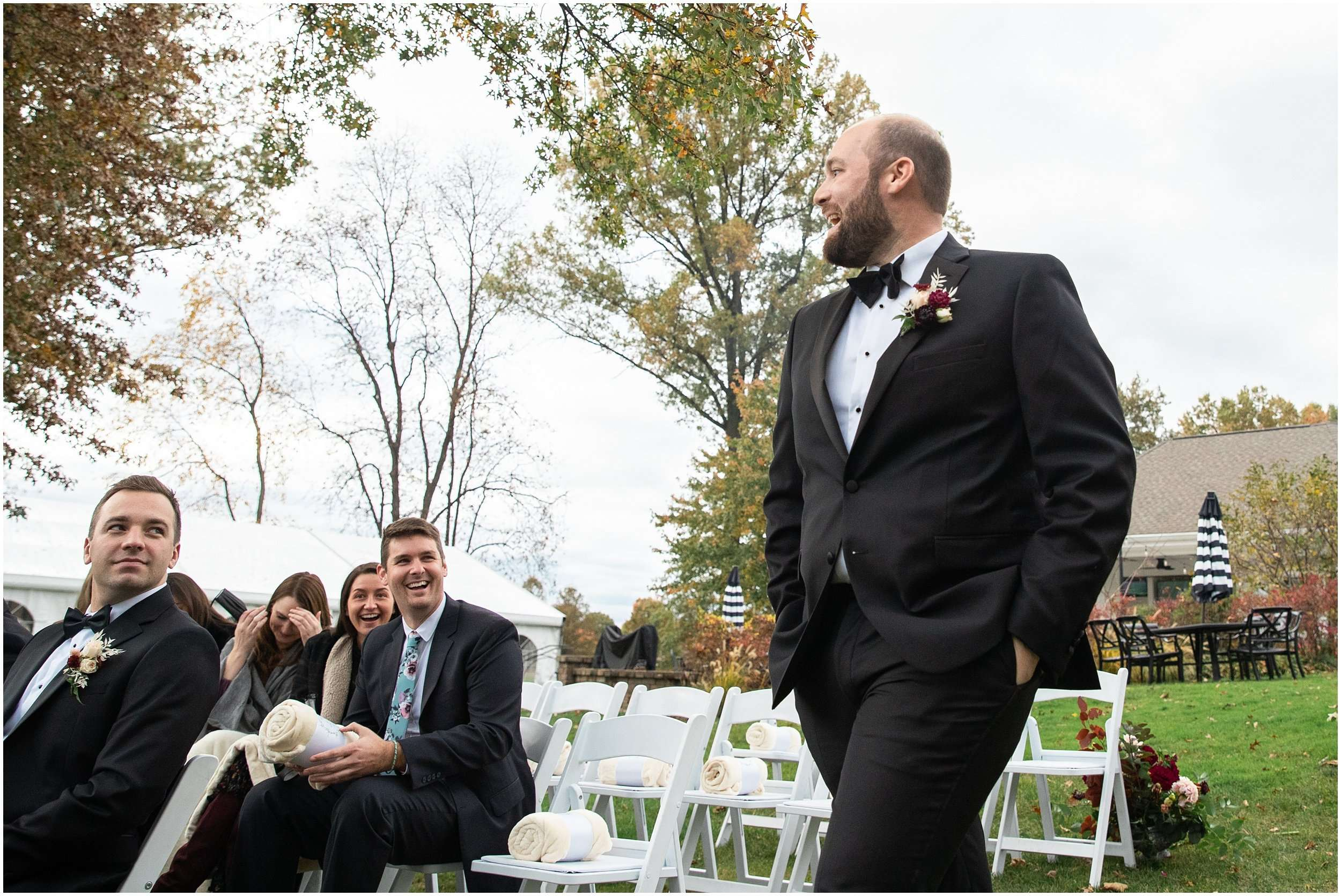 Fall Wedding at the Jefferson Golf and Country Club | Ohio Wedding Photography 120