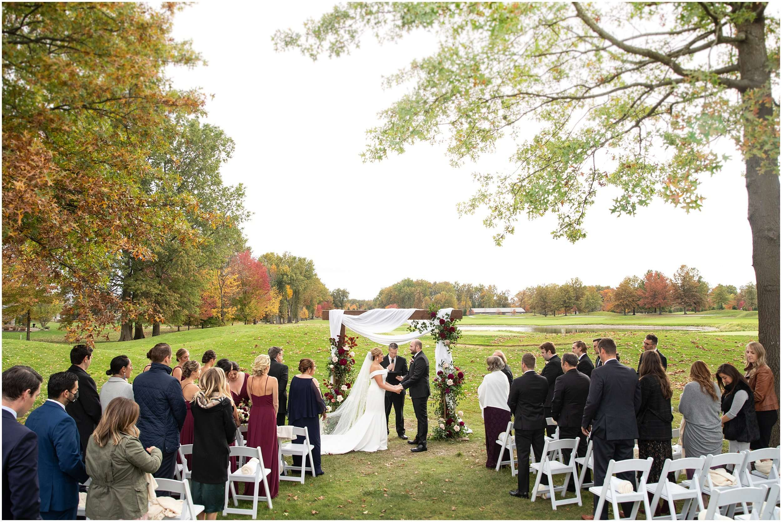 Fall Wedding at the Jefferson Golf and Country Club | Ohio Wedding Photography 146