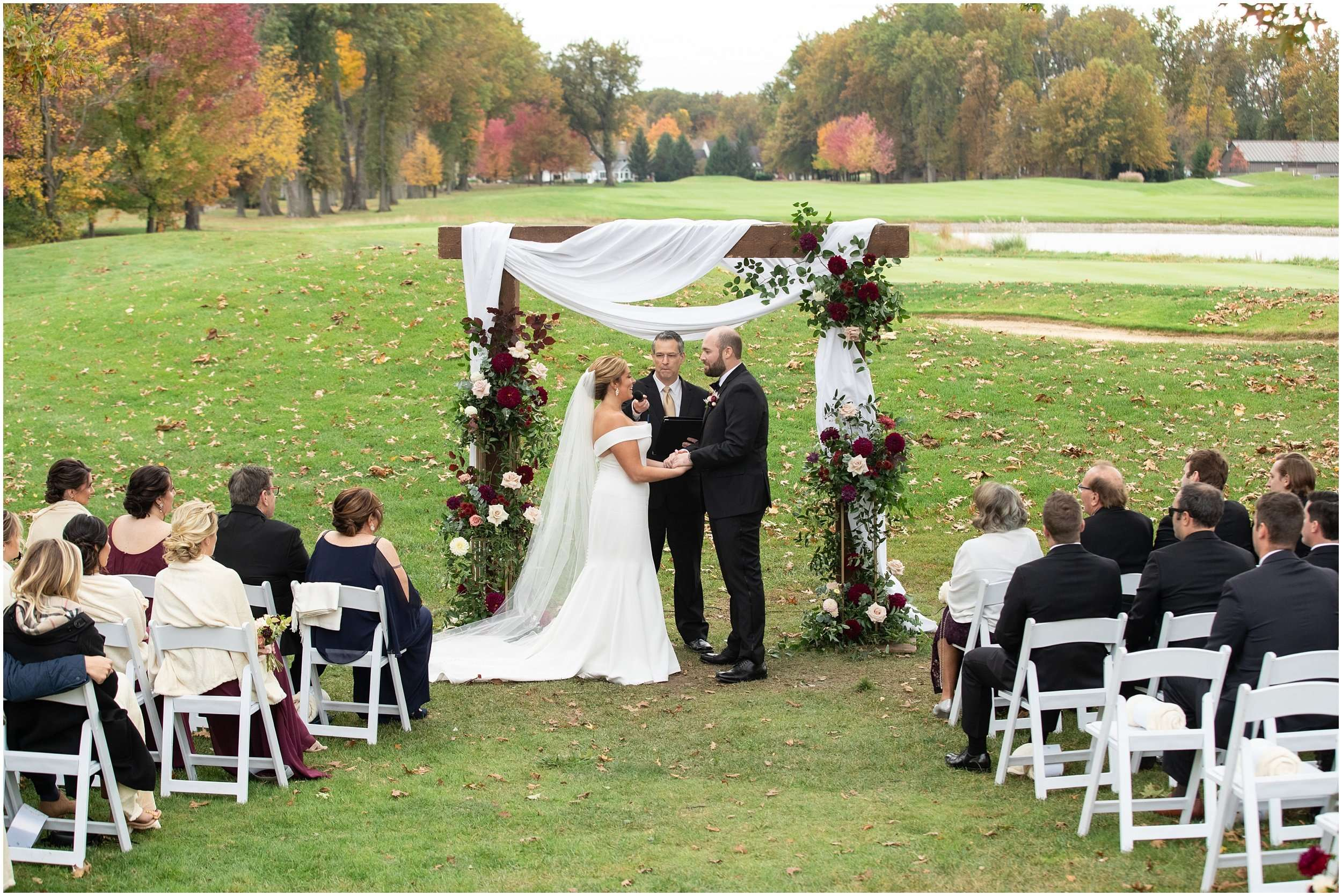 Fall Wedding at the Jefferson Golf and Country Club | Ohio Wedding Photography 152