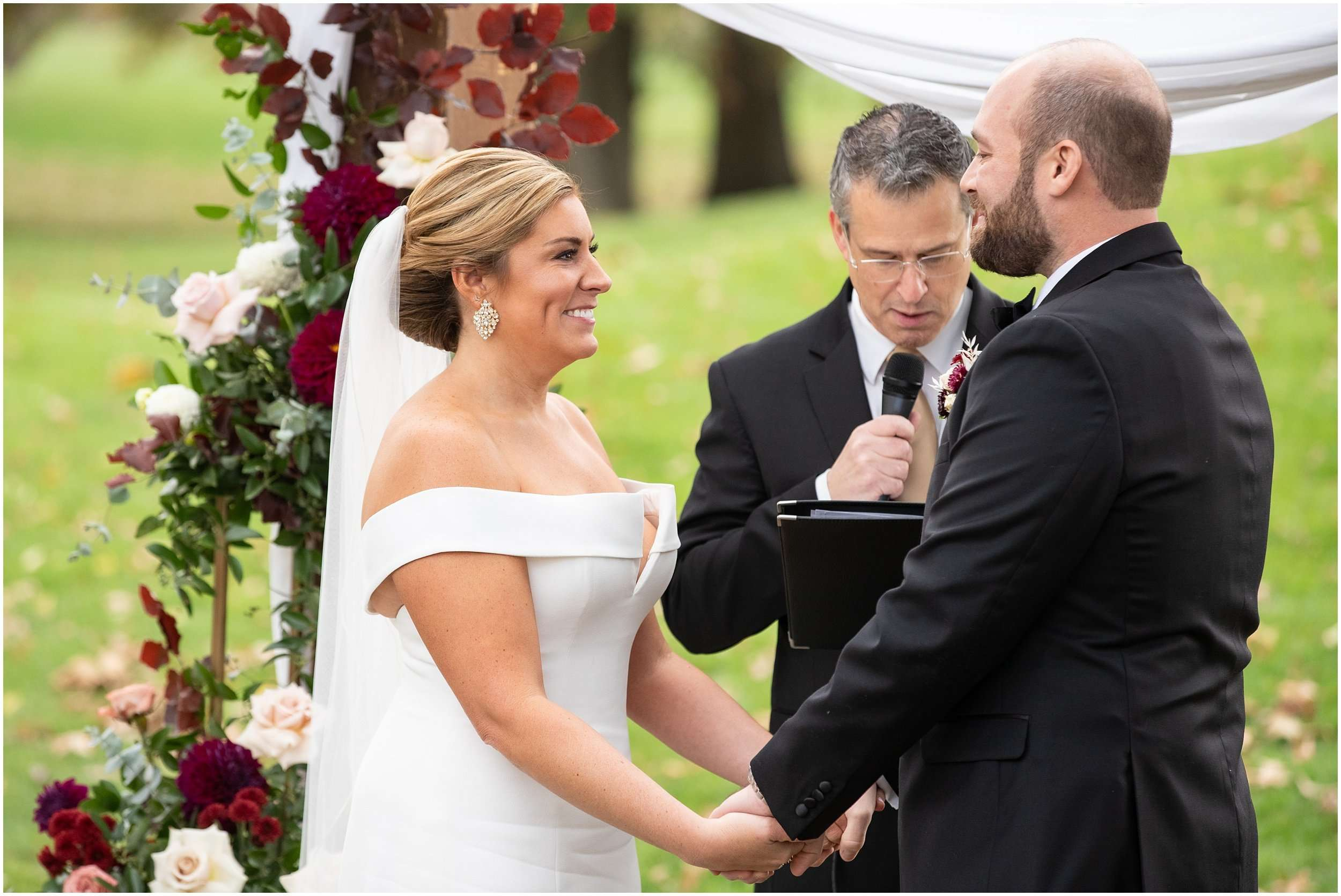 Fall Wedding at the Jefferson Golf and Country Club | Ohio Wedding Photography 160