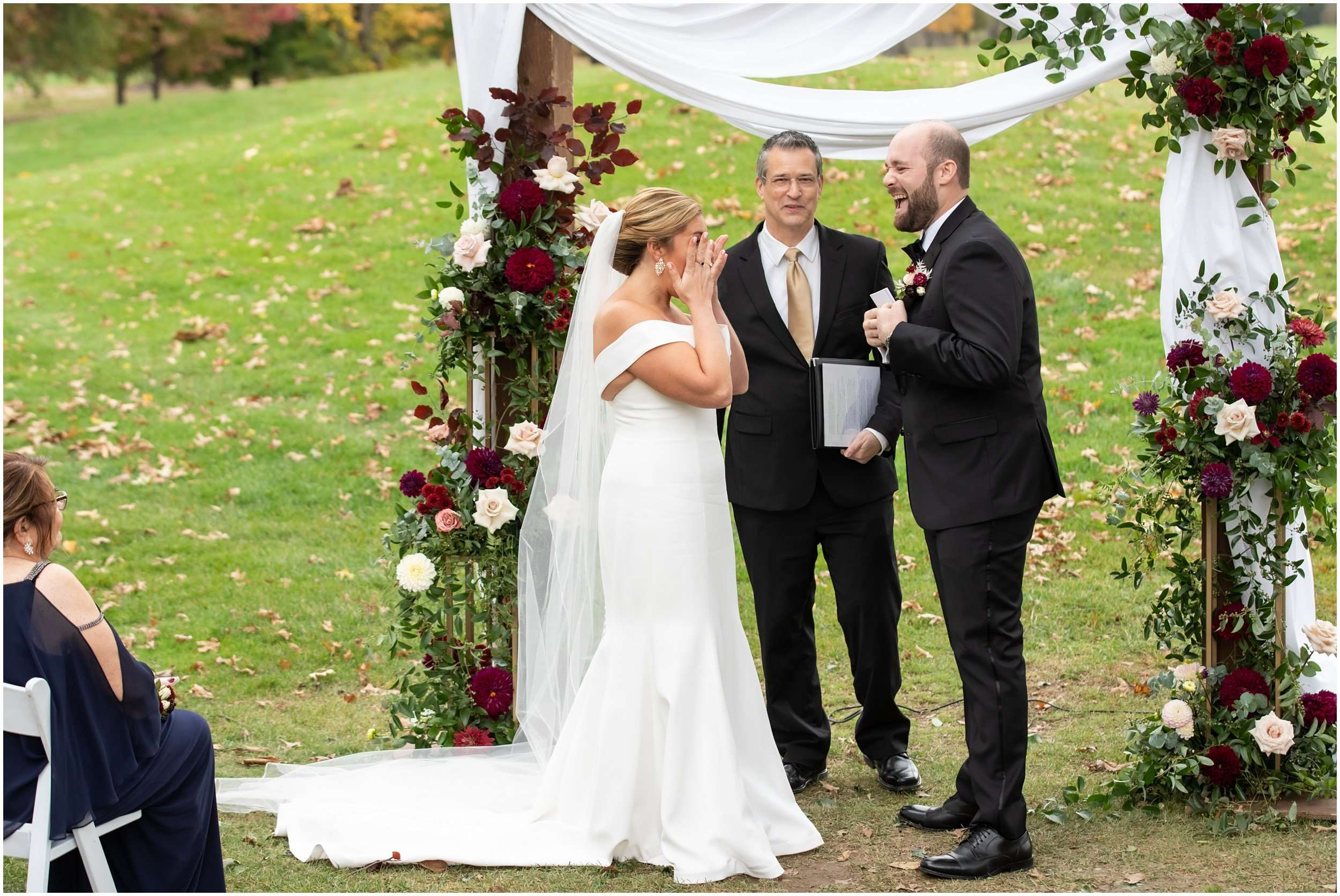 Fall Wedding at the Jefferson Golf and Country Club | Ohio Wedding Photography 164