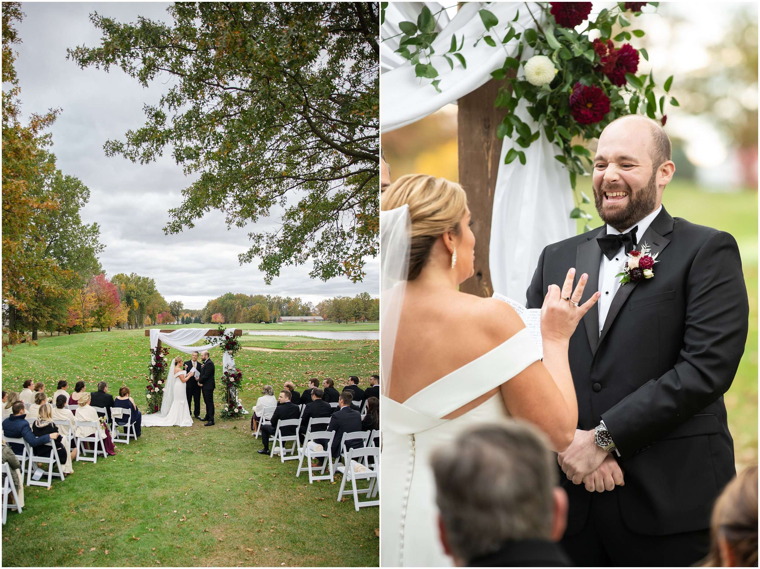 Fall Wedding at the Jefferson Golf and Country Club | Ohio Wedding Photography 166