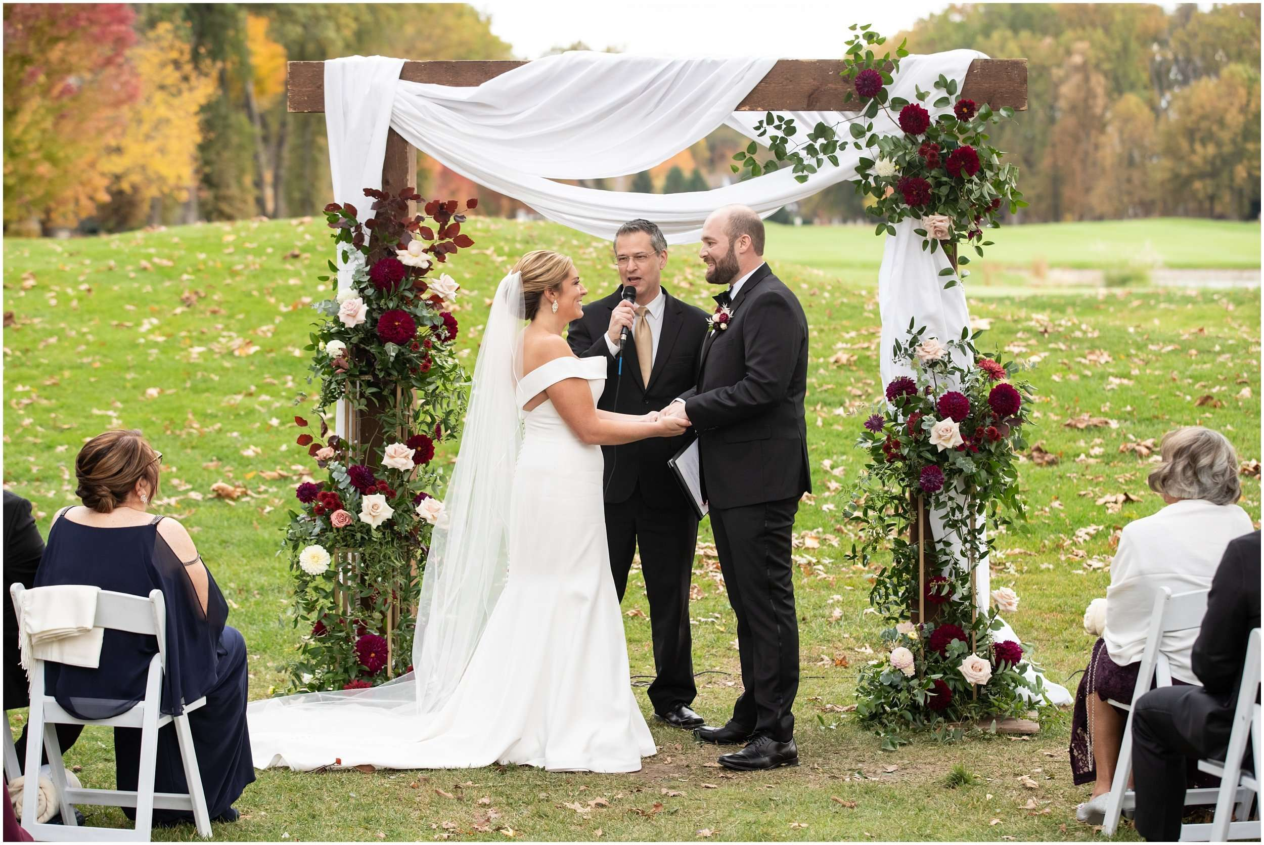 Fall Wedding at the Jefferson Golf and Country Club | Ohio Wedding Photography 168