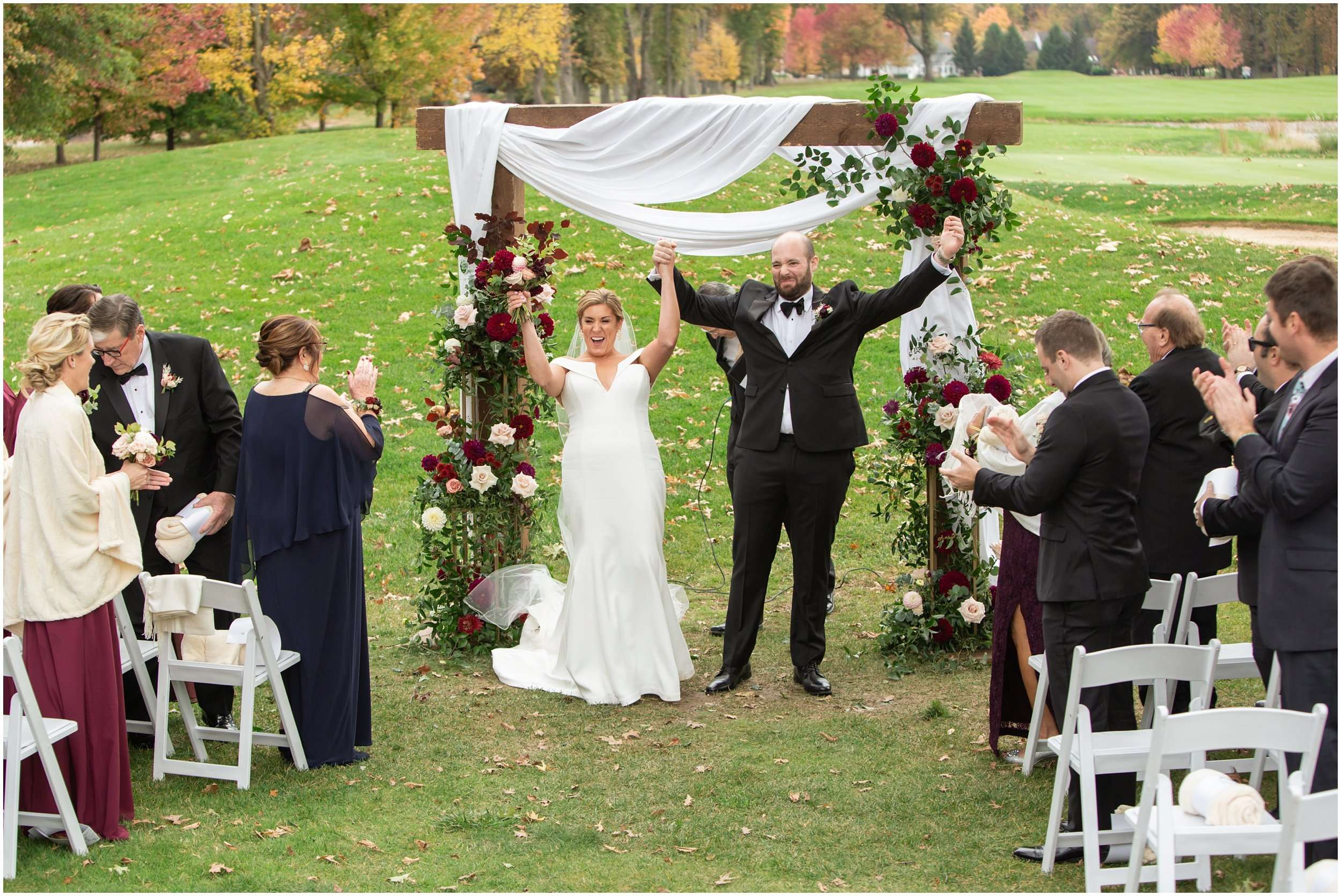 Fall Wedding at the Jefferson Golf and Country Club | Ohio Wedding Photography 172