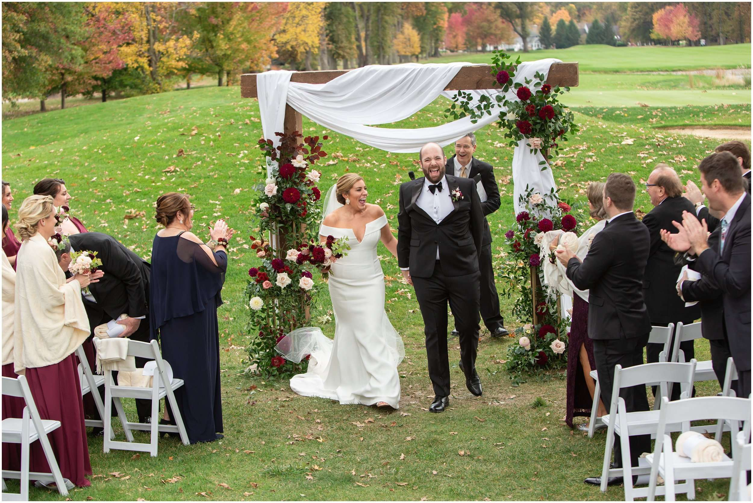 Fall Wedding at the Jefferson Golf and Country Club | Ohio Wedding Photography 174