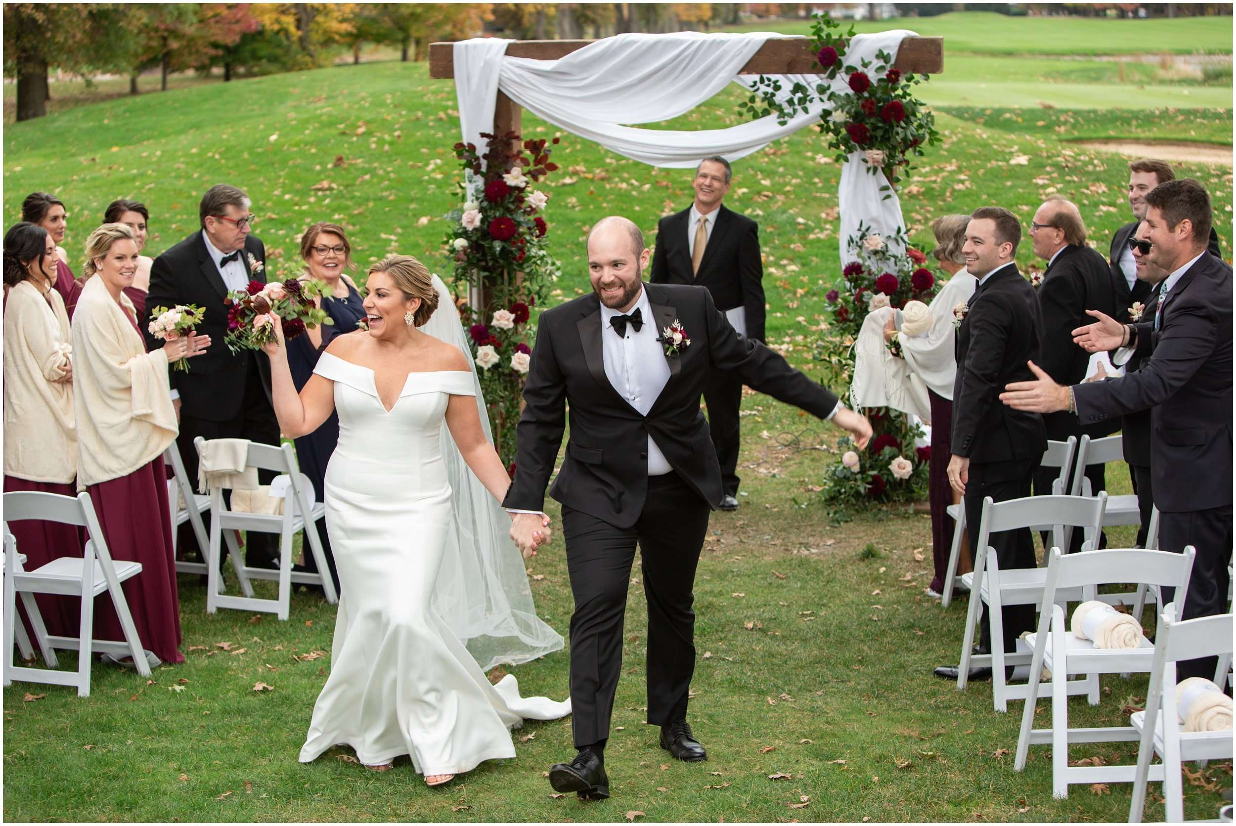 Fall Wedding at the Jefferson Golf and Country Club | Ohio Wedding Photography 176