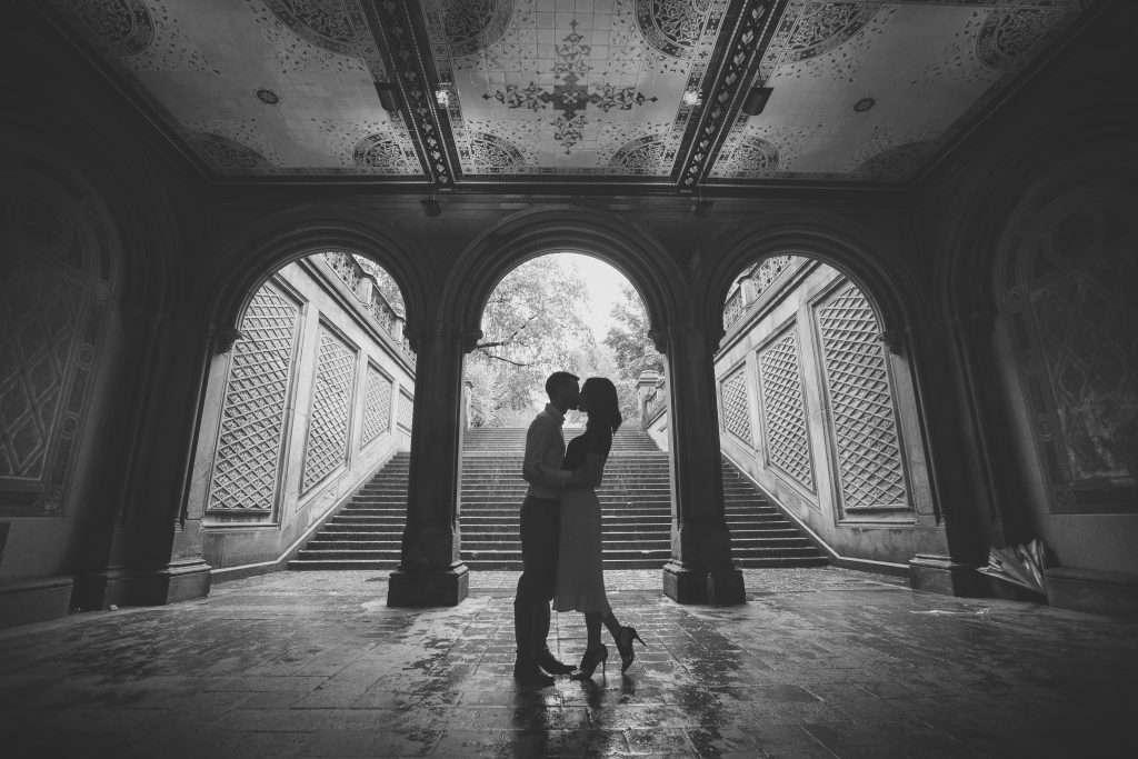 Ashley and Chase | New York Engagement Session and Ohio Statehouse Wedding 2