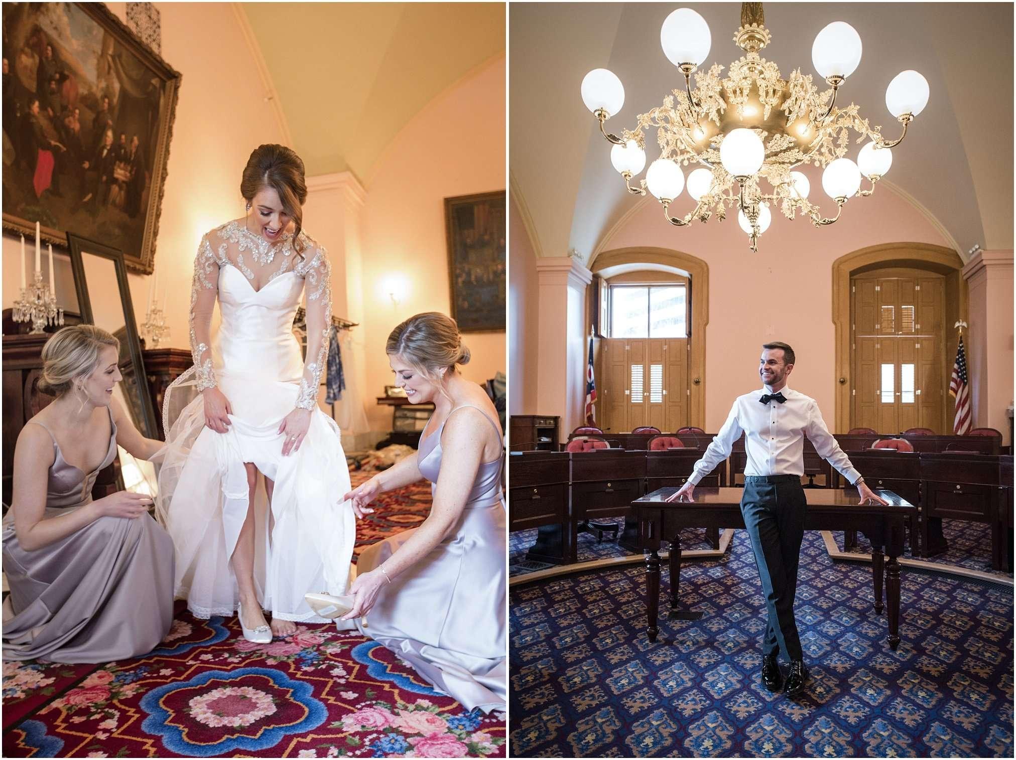 Spring Wedding at the Ohio Statehouse | Columbus Ohio Photography 16