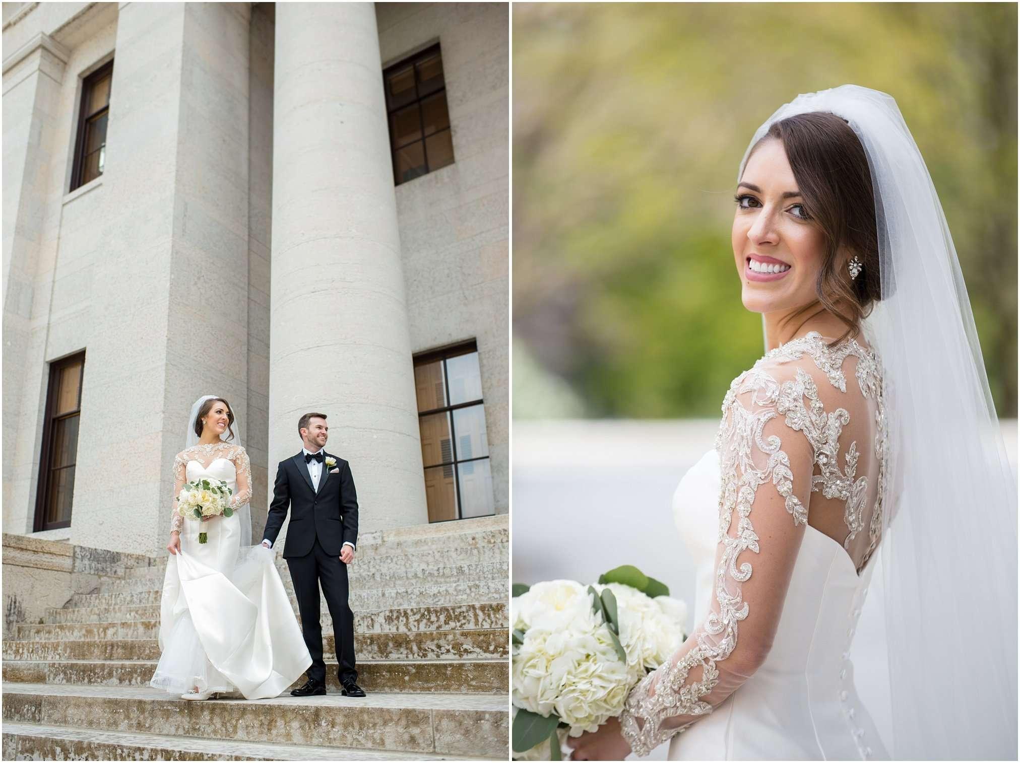 Spring Wedding at the Ohio Statehouse | Columbus Ohio Photography 44