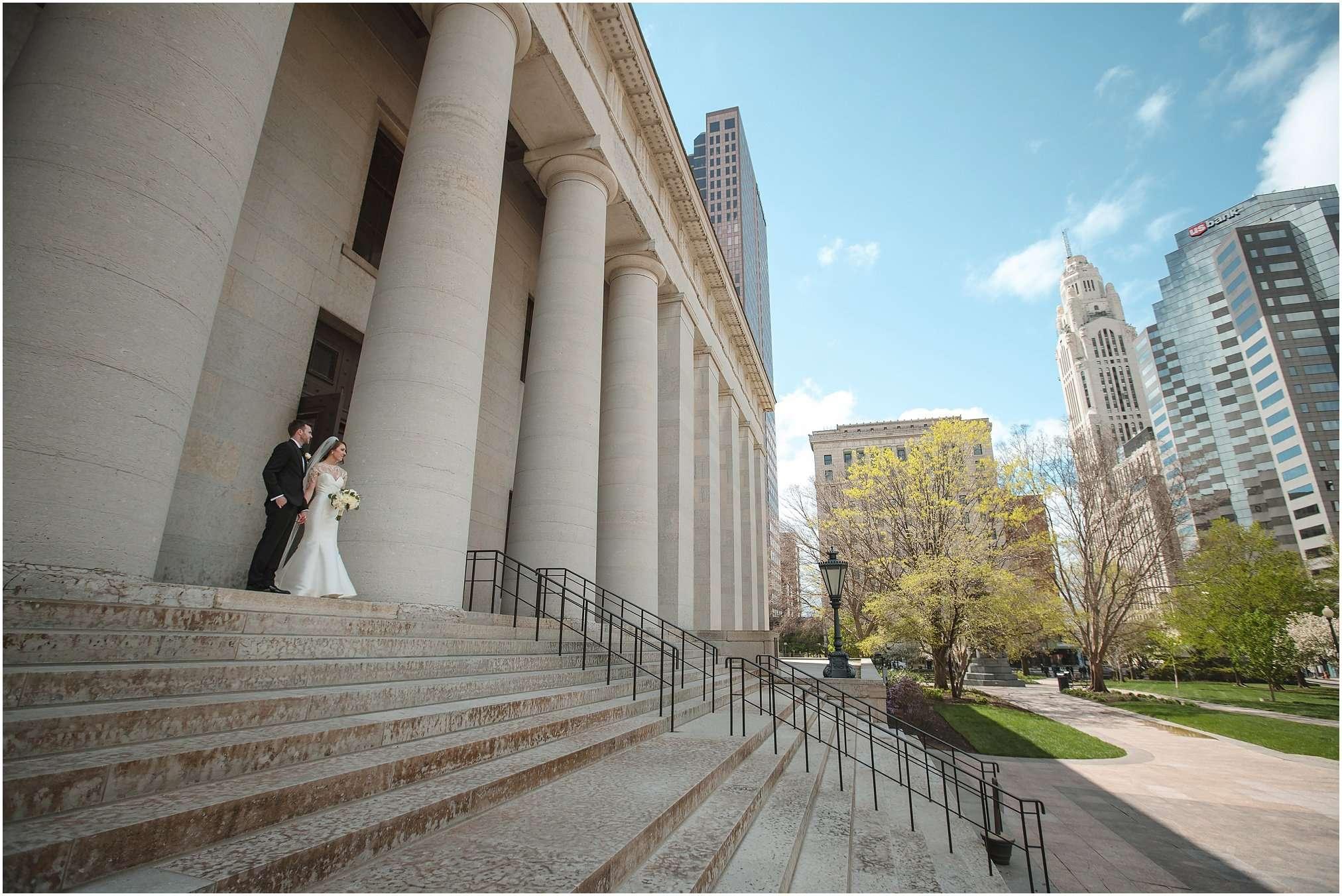 Spring Wedding at the Ohio Statehouse | Columbus Ohio Photography 84