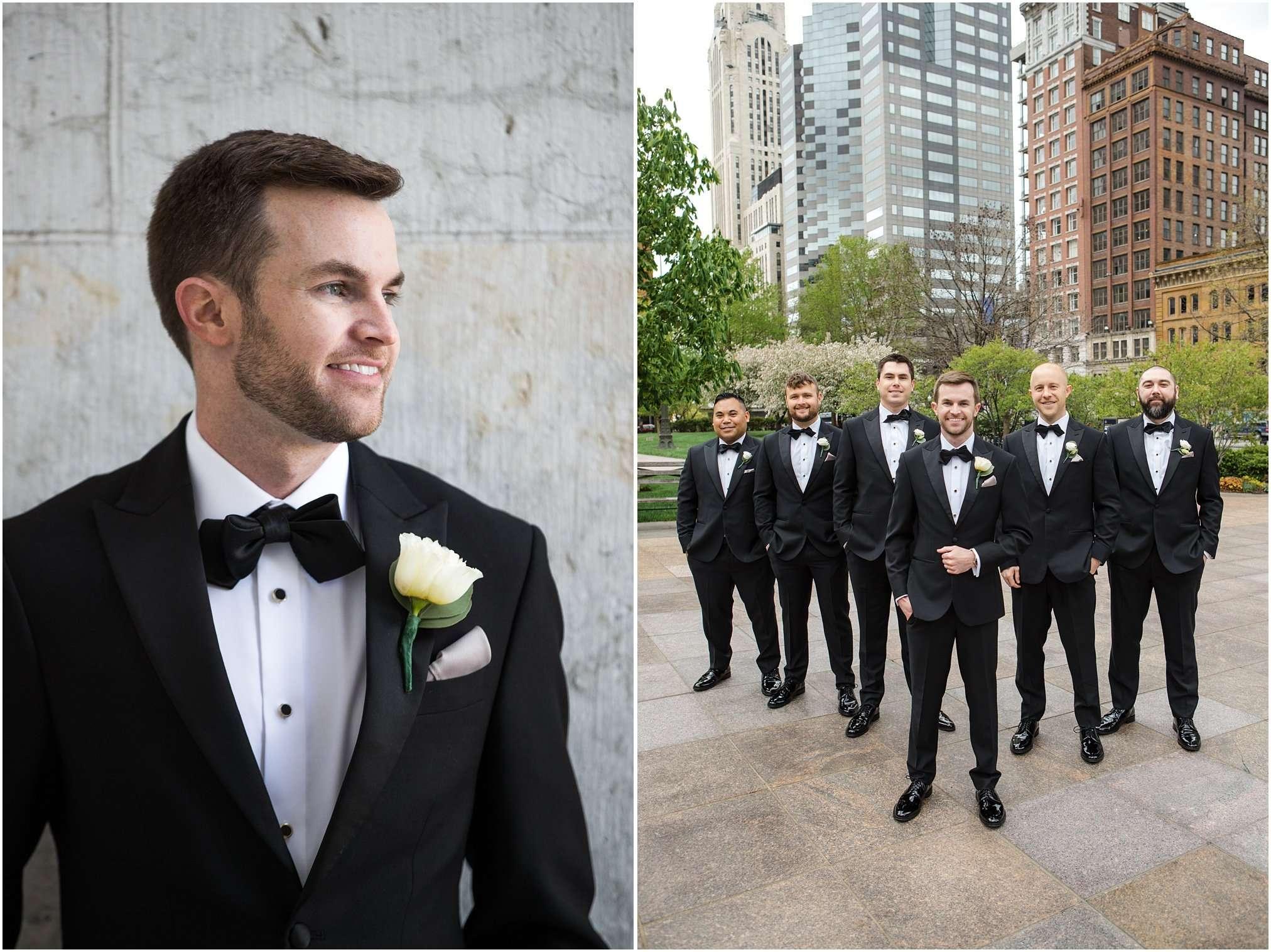 Spring Wedding at the Ohio Statehouse | Columbus Ohio Photography 86