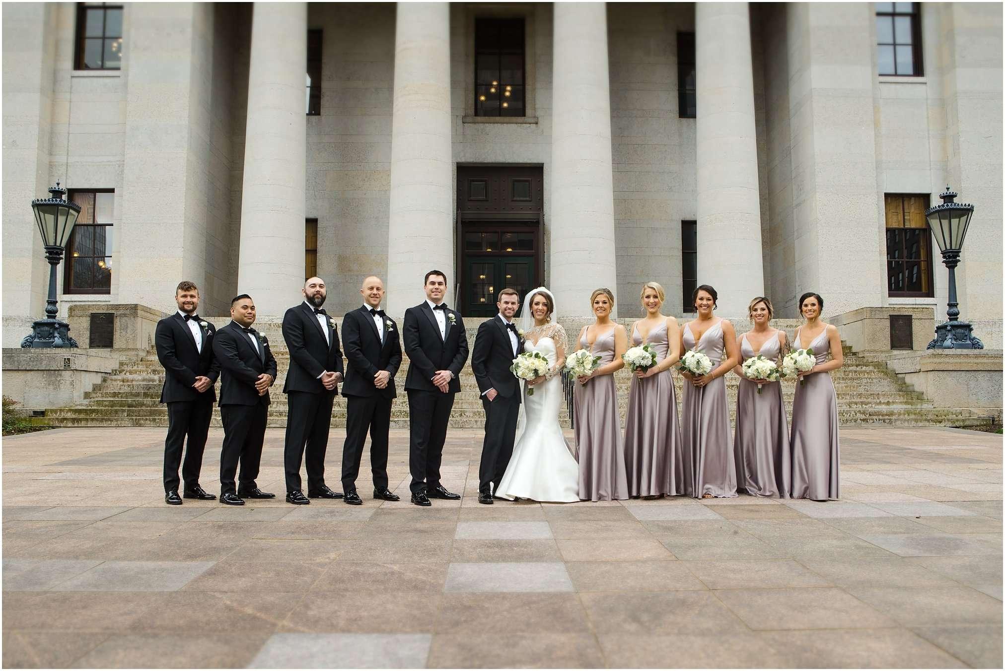 Spring Wedding at the Ohio Statehouse | Columbus Ohio Photography 90