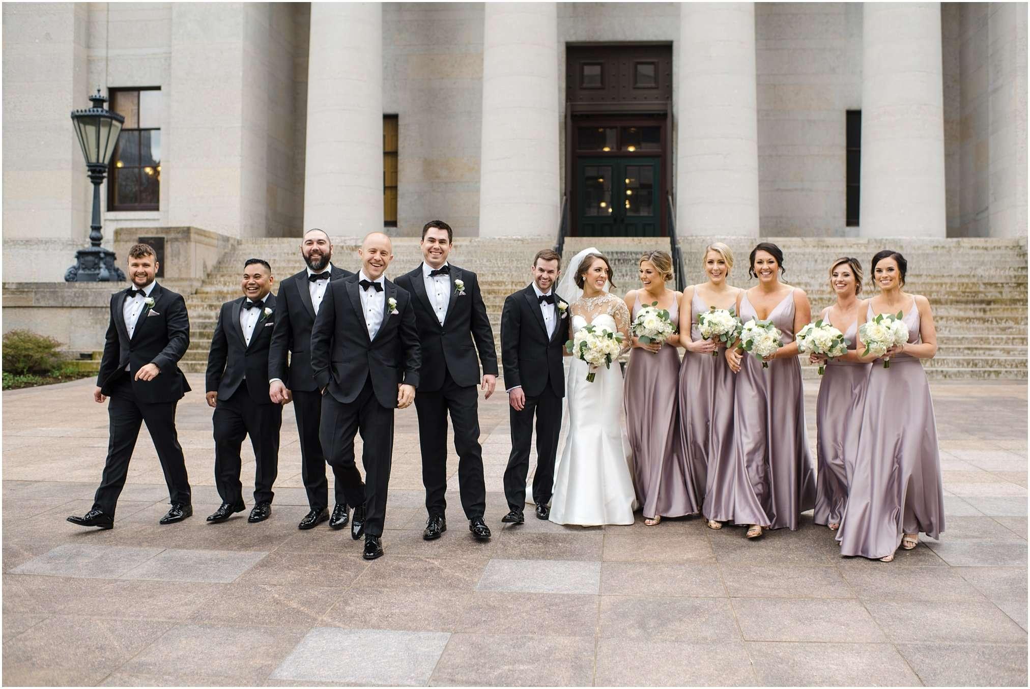 Spring Wedding at the Ohio Statehouse | Columbus Ohio Photography 94
