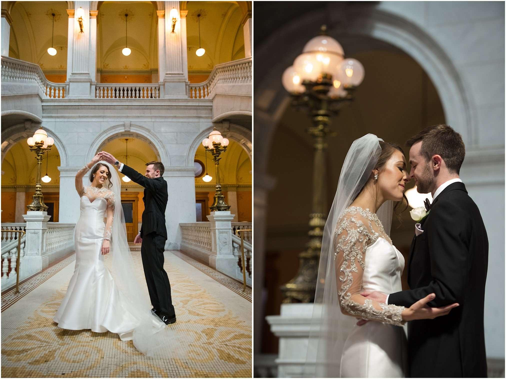 Spring Wedding at the Ohio Statehouse | Columbus Ohio Photography 106