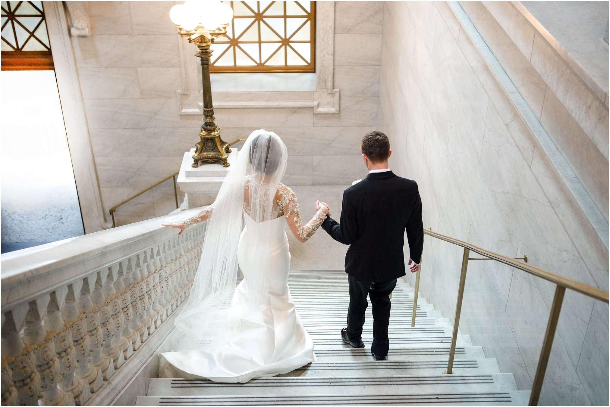 Spring Wedding at the Ohio Statehouse | Columbus Ohio Photography 114