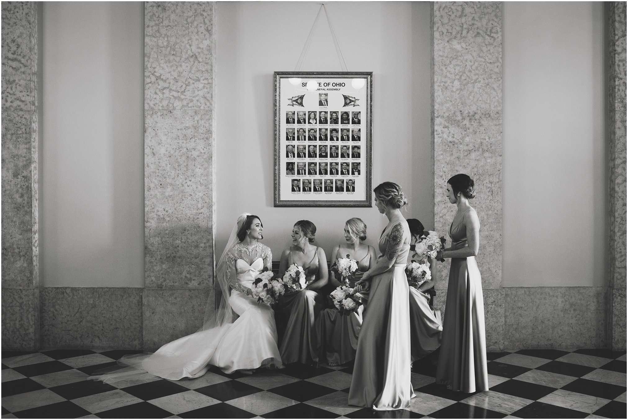 Spring Wedding at the Ohio Statehouse | Columbus Ohio Photography 118