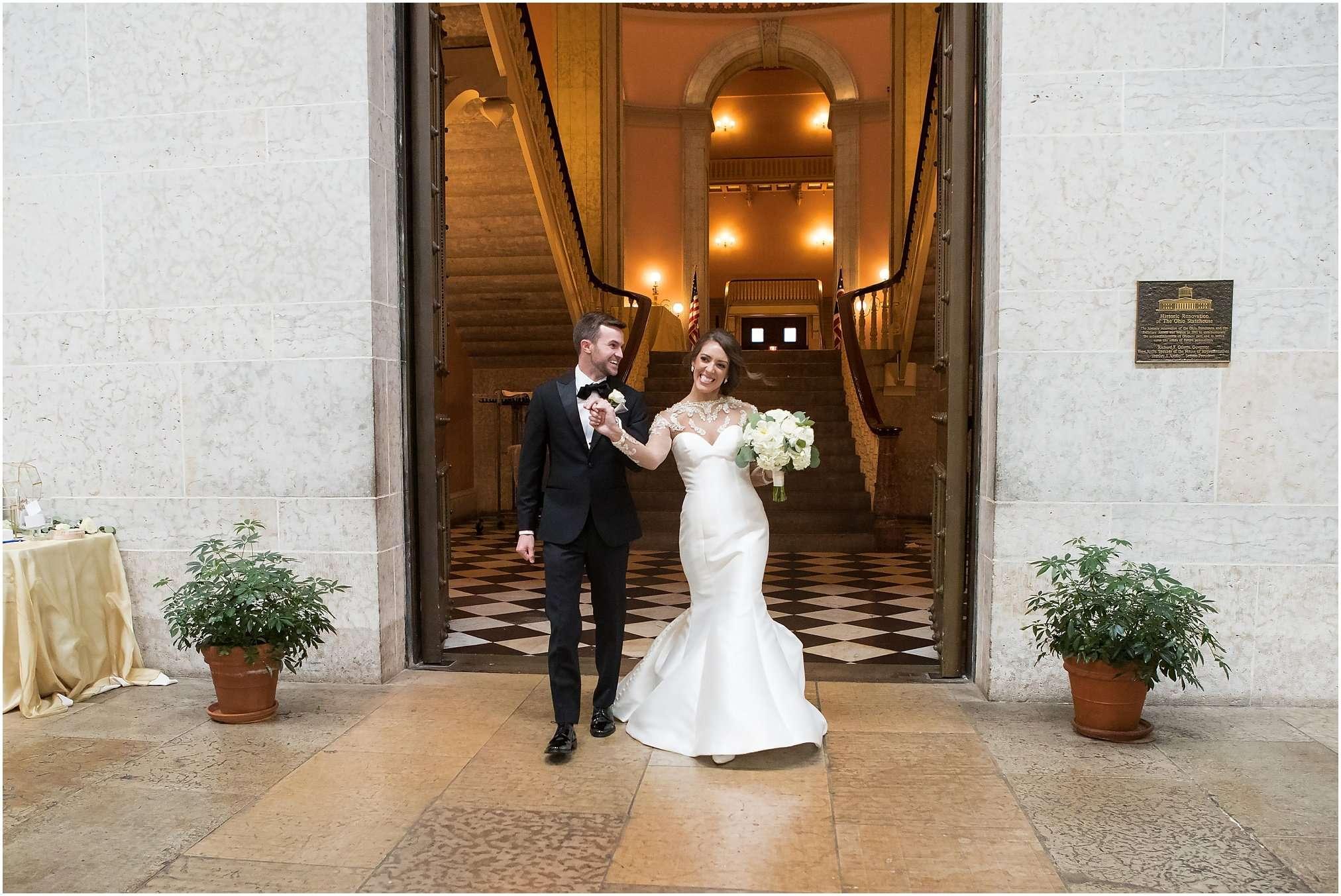 Spring Wedding at the Ohio Statehouse | Columbus Ohio Photography 178