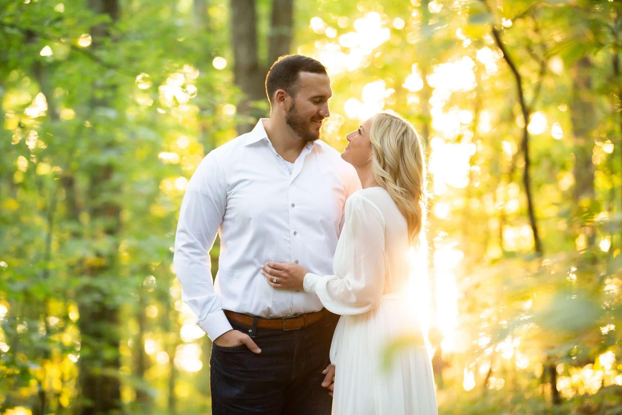 Summer Sunset Engagement Session | Columbus Ohio Photography 2