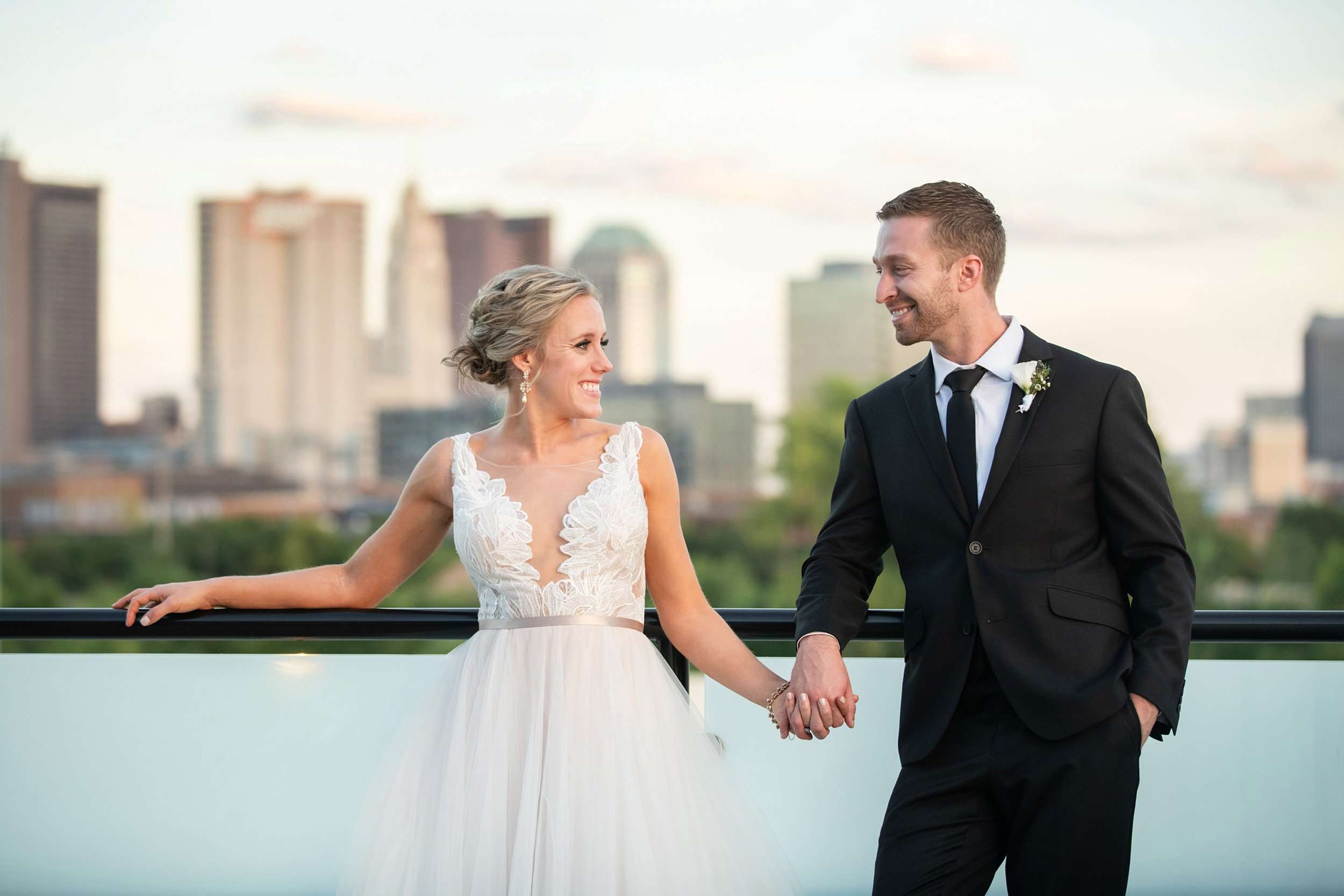Late Summer Wedding at The Fives Columbus 176