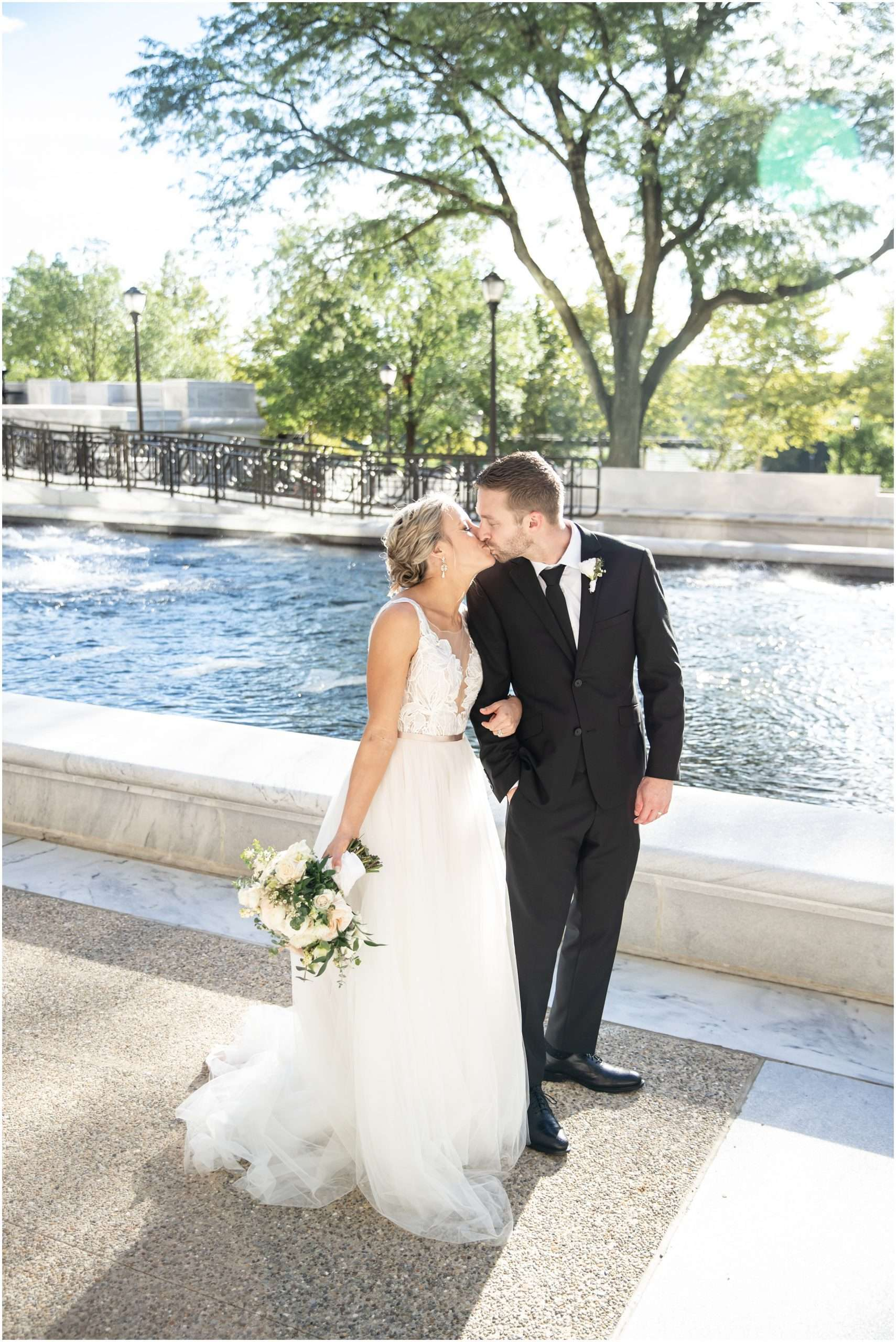 Late Summer Wedding at The Fives Columbus 110