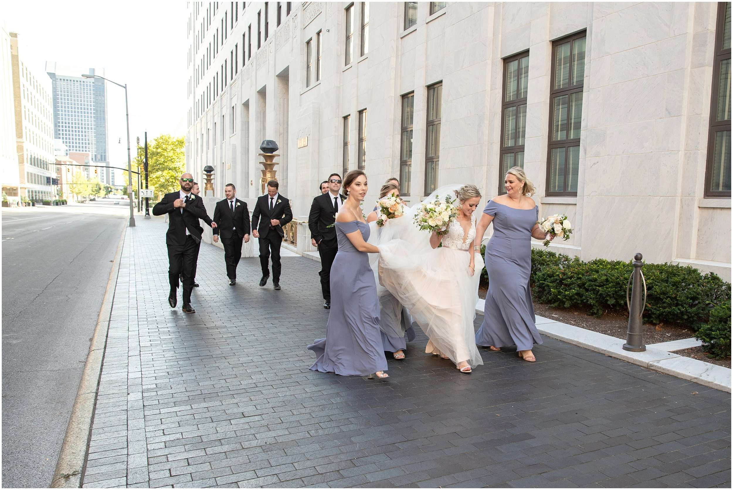 Late Summer Wedding at The Fives Columbus 112