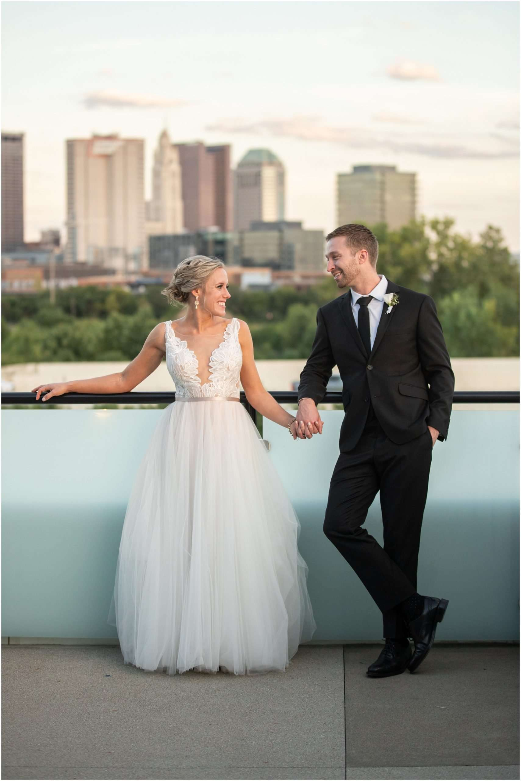 Late Summer Wedding at The Fives Columbus 184