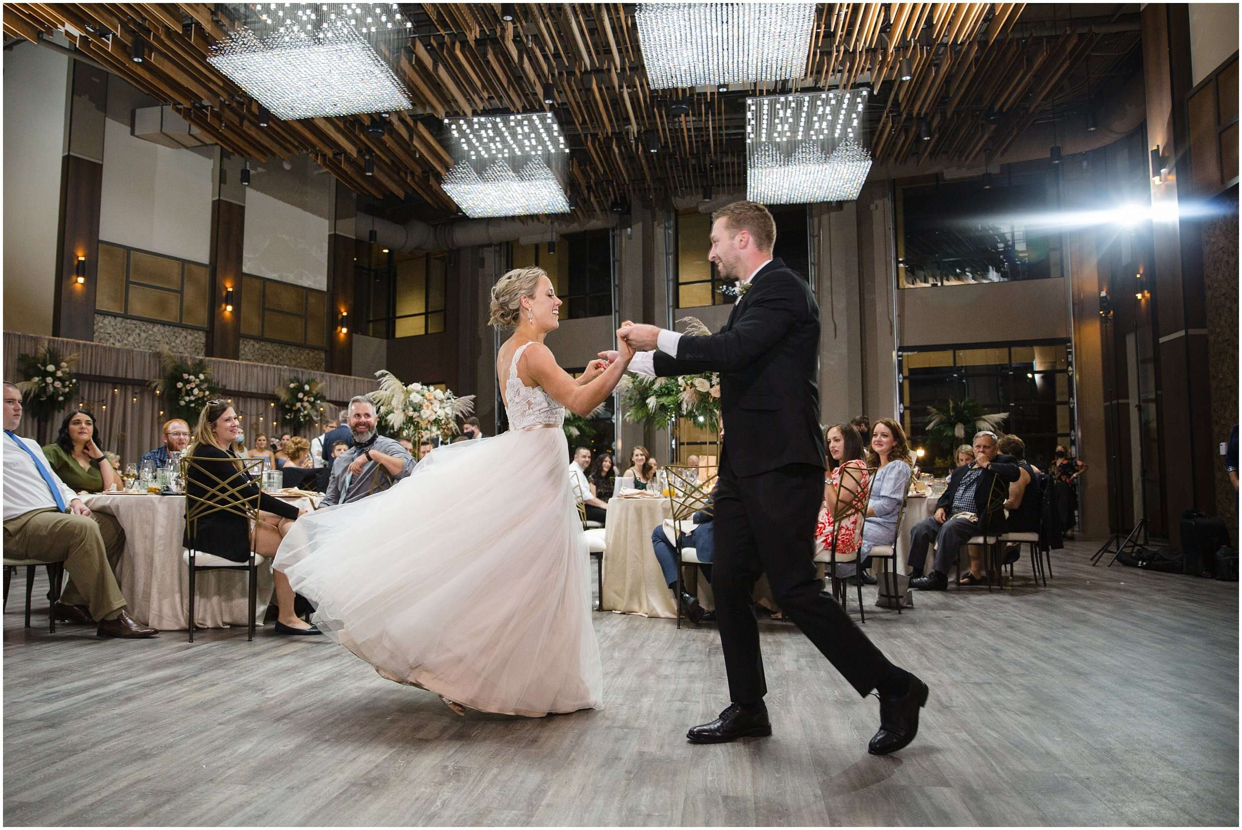 Late Summer Wedding at The Fives Columbus 212