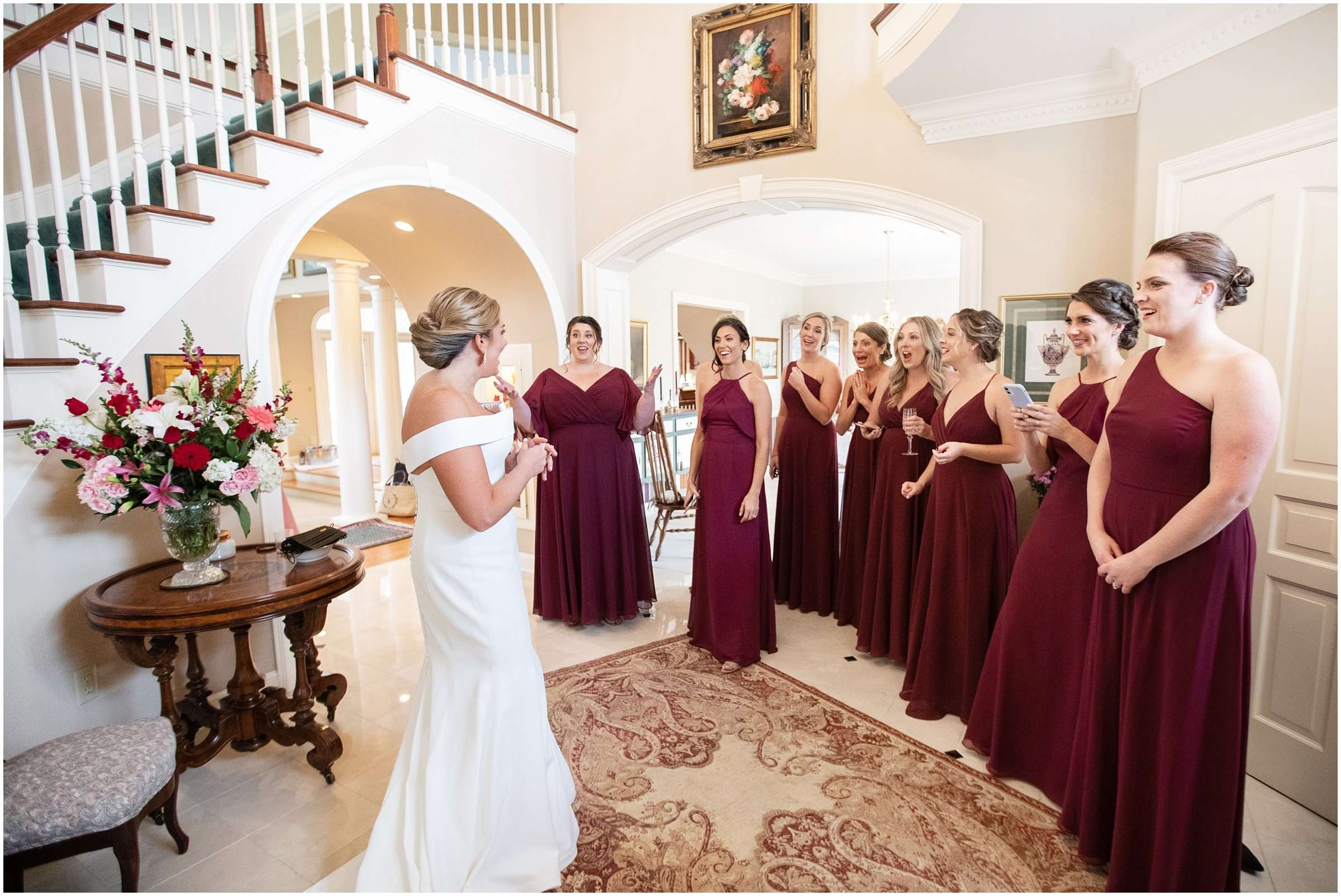 Fall Wedding at the Jefferson Golf and Country Club | Ohio Wedding Photography 28