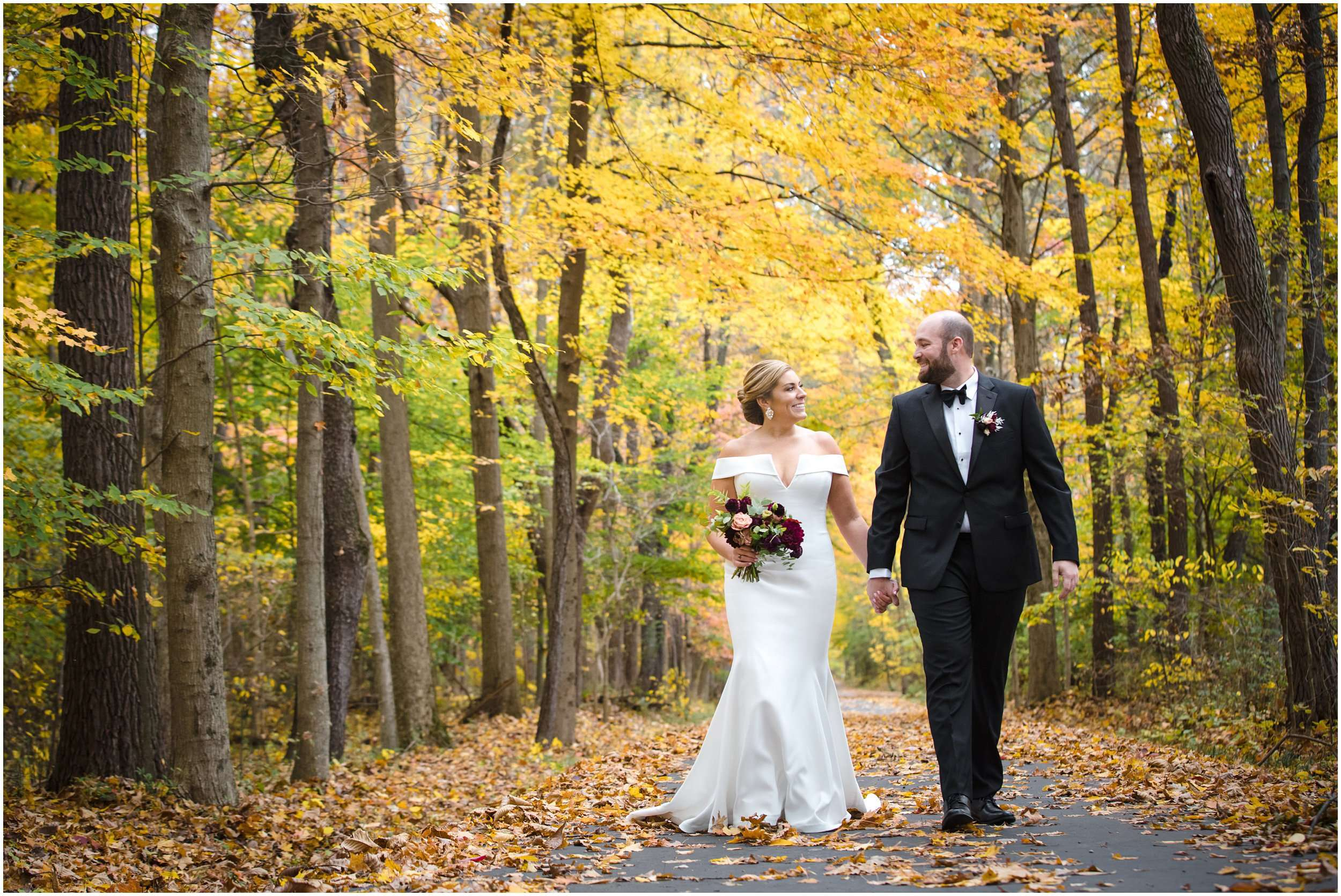 Fall Wedding at the Jefferson Golf and Country Club | Ohio Wedding Photography 66