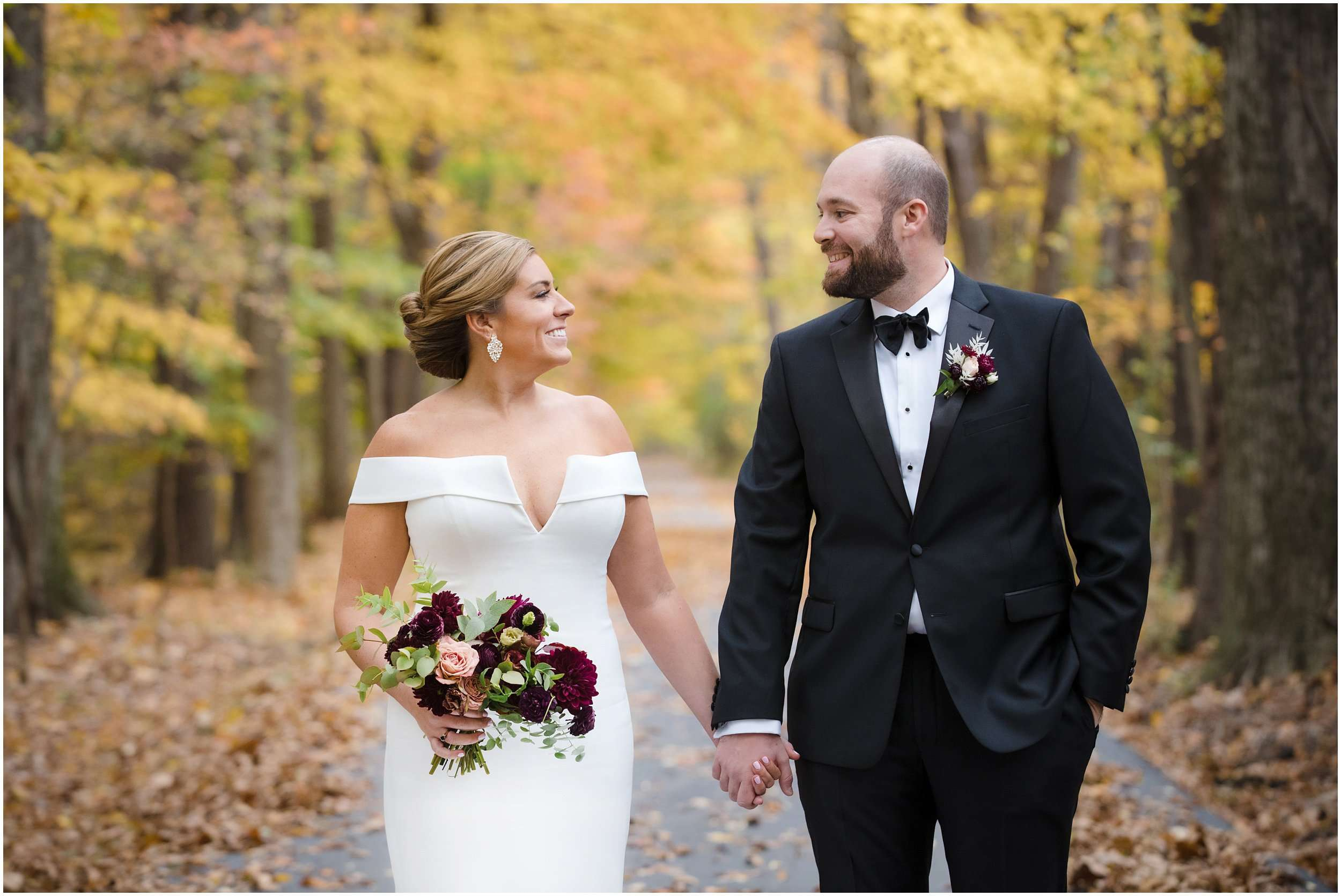Fall Wedding at the Jefferson Golf and Country Club | Ohio Wedding Photography 80