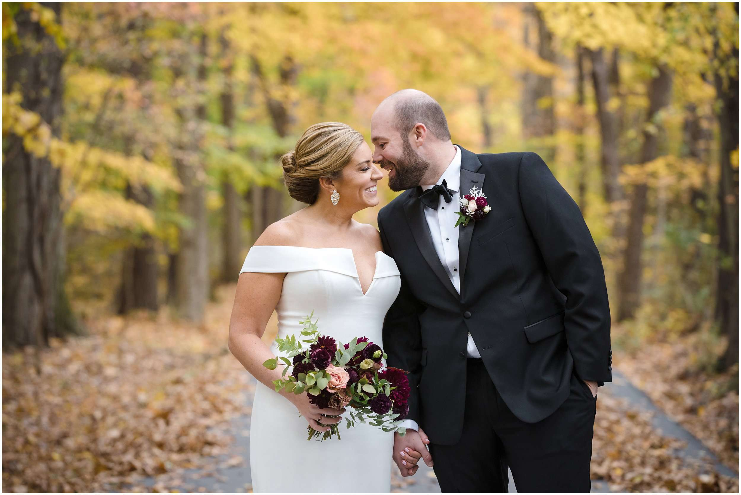 Fall Wedding at the Jefferson Golf and Country Club | Ohio Wedding Photography 68