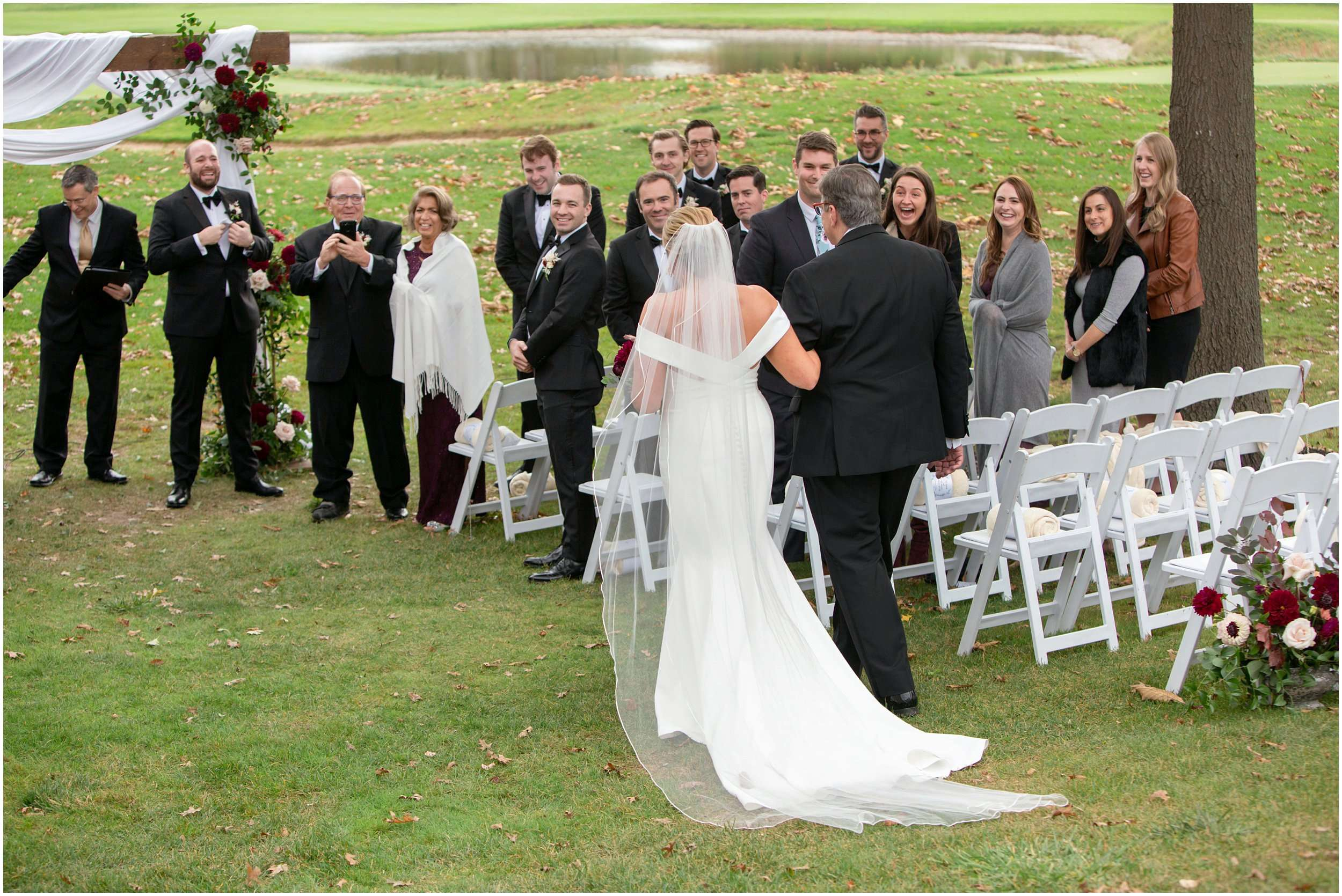 Fall Wedding at the Jefferson Golf and Country Club | Ohio Wedding Photography 142
