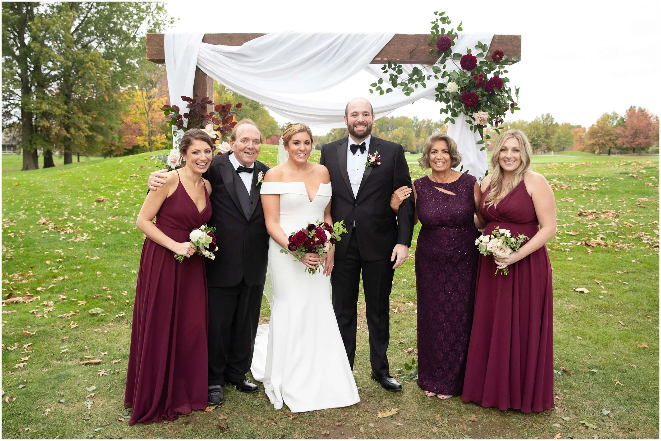 Fall Wedding at the Jefferson Golf and Country Club | Ohio Wedding Photography 182