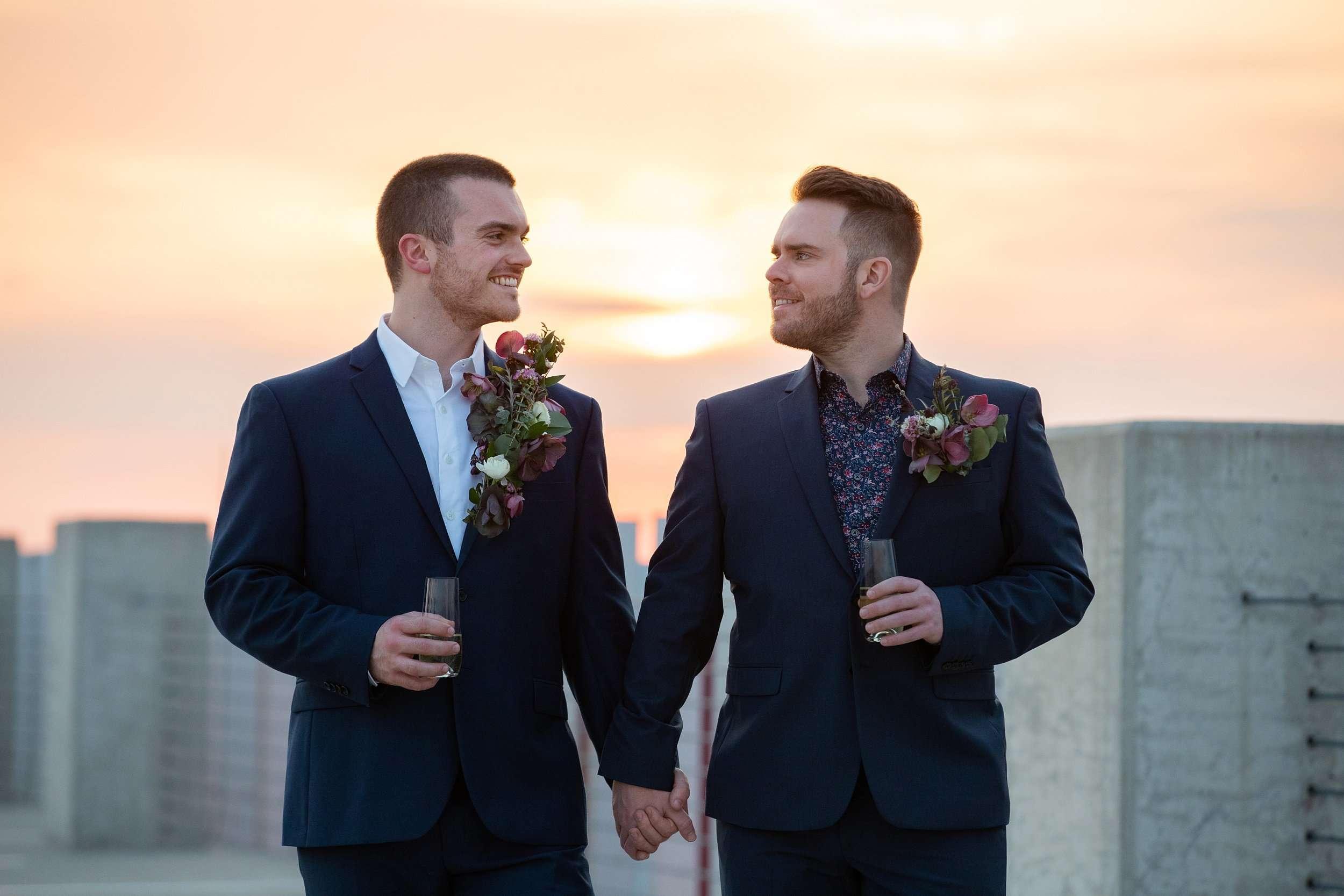 Modern Love in the Short North Columbus Ohio | Marc + Joe 2