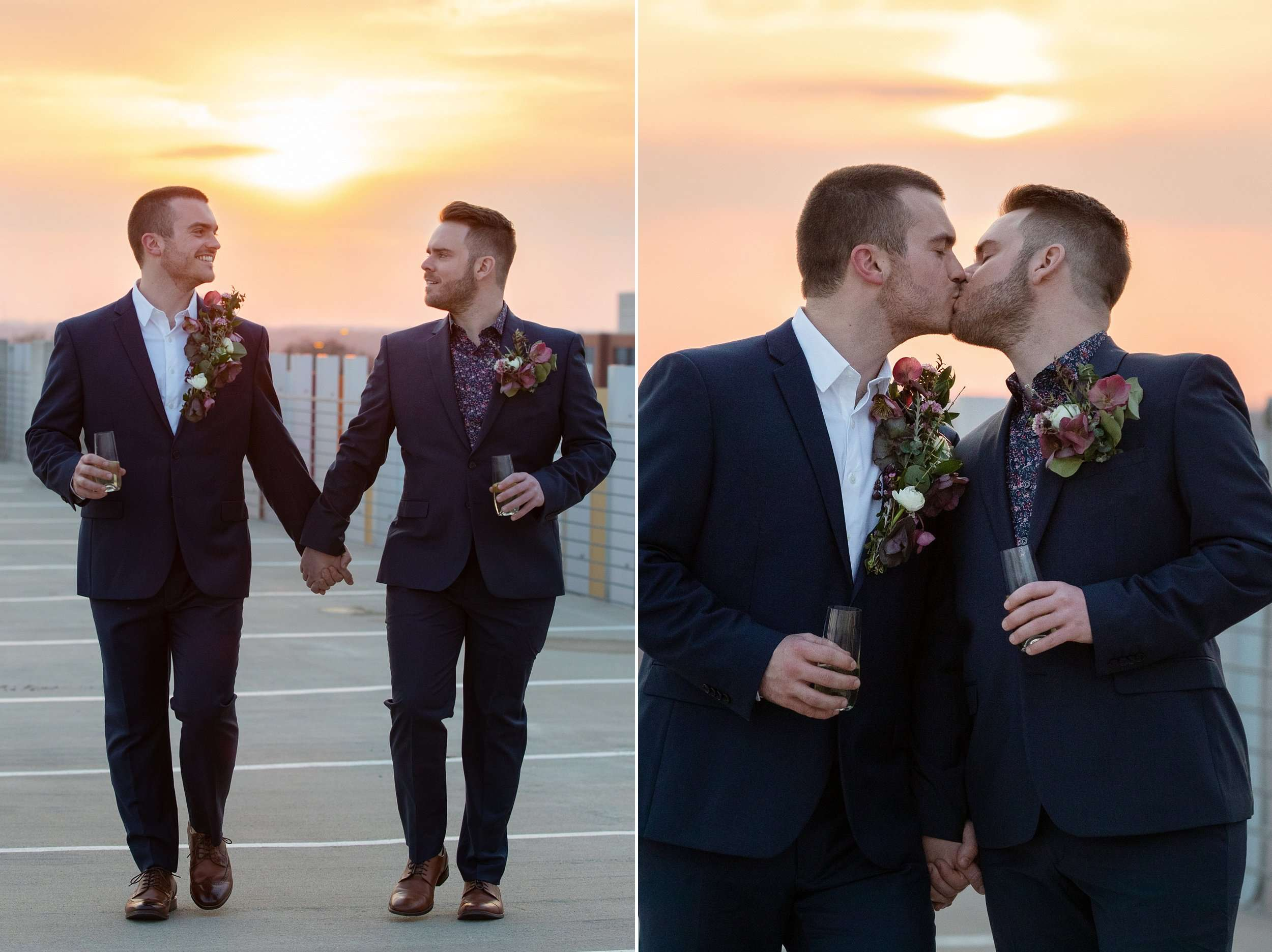 Modern Love in the Short North Columbus Ohio | Marc + Joe 22